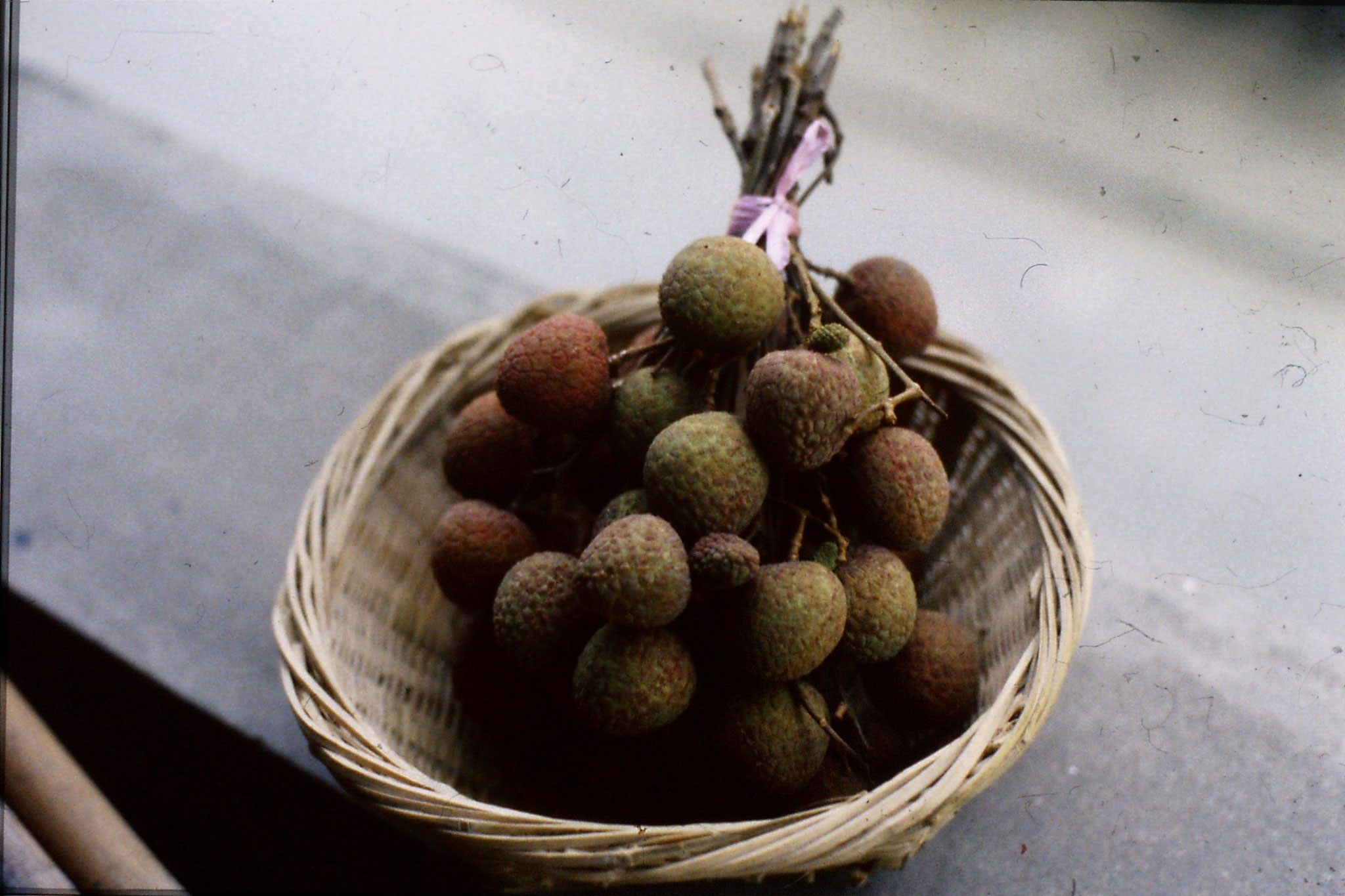 25/6/1989: 15: lychees - 9.6 yuan