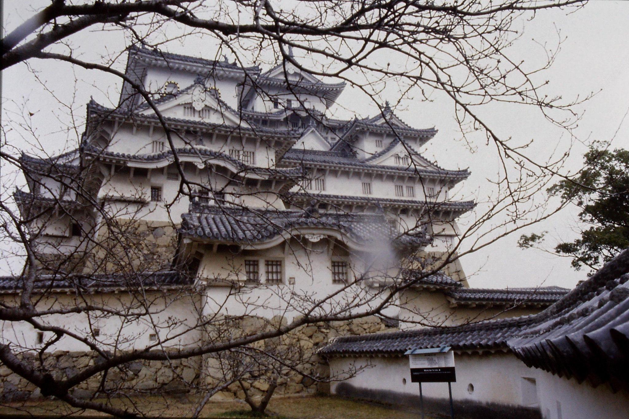18/1/1989: 30: Himeji castle