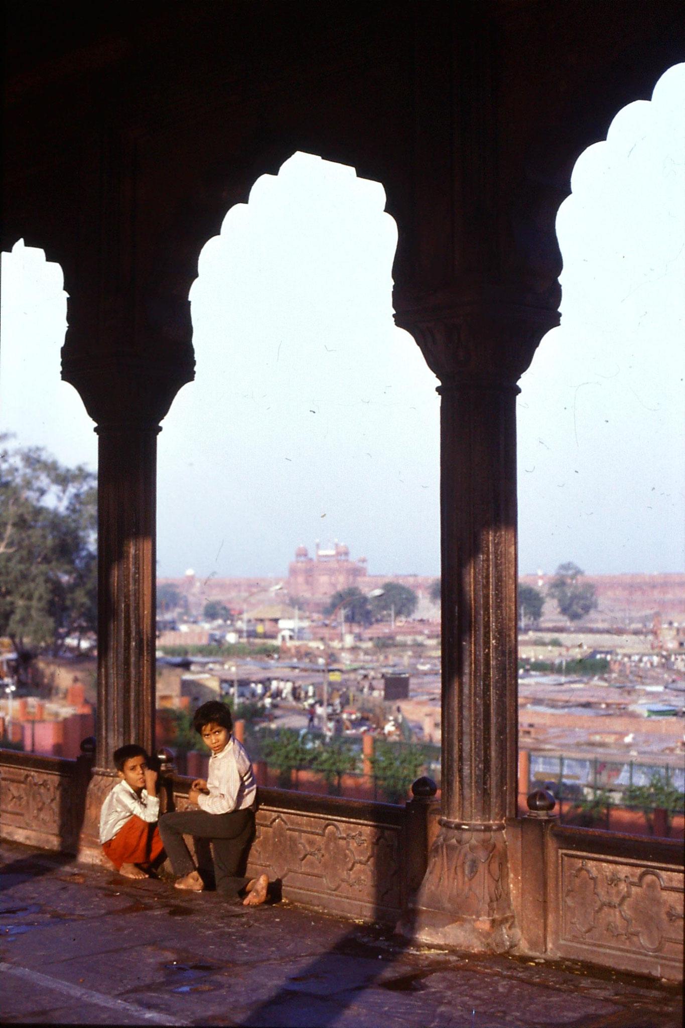 24/11/1989: 25: Delhi Red Fort & Jami Masjid