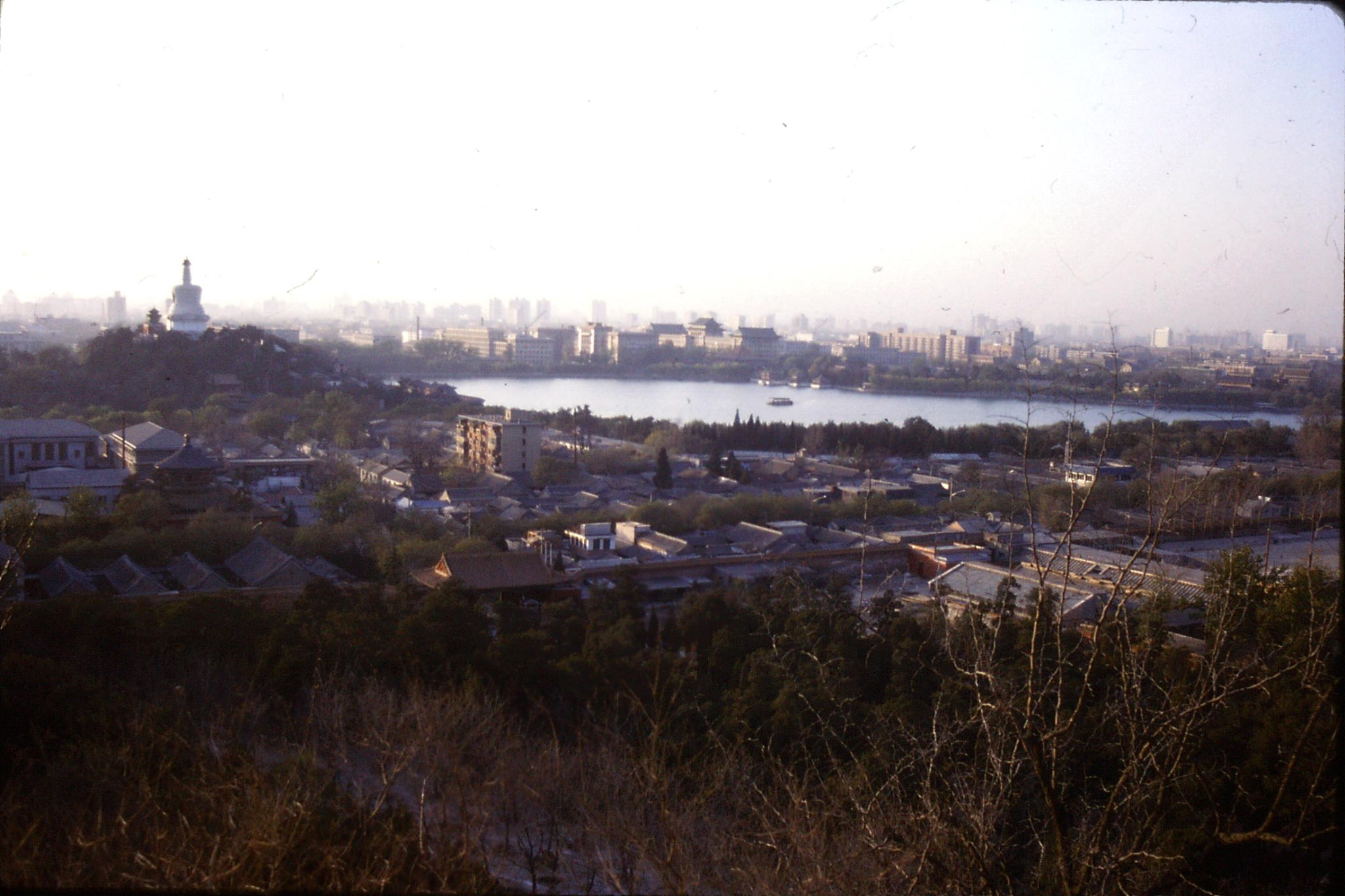 18/11/1988: 33: view  from Coal Hill
