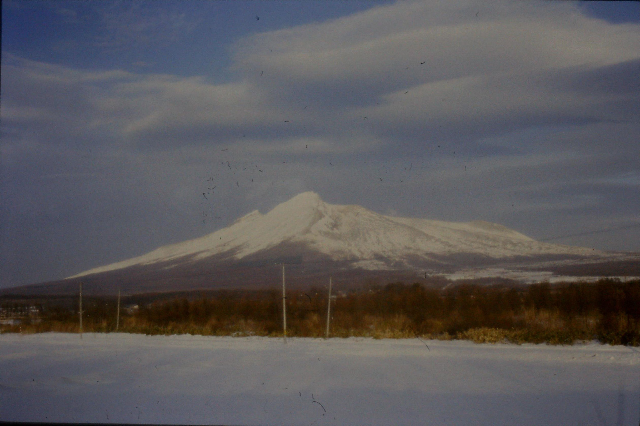 7/1/1989: 5: Mt Komo 3.30pm just after Hakodate