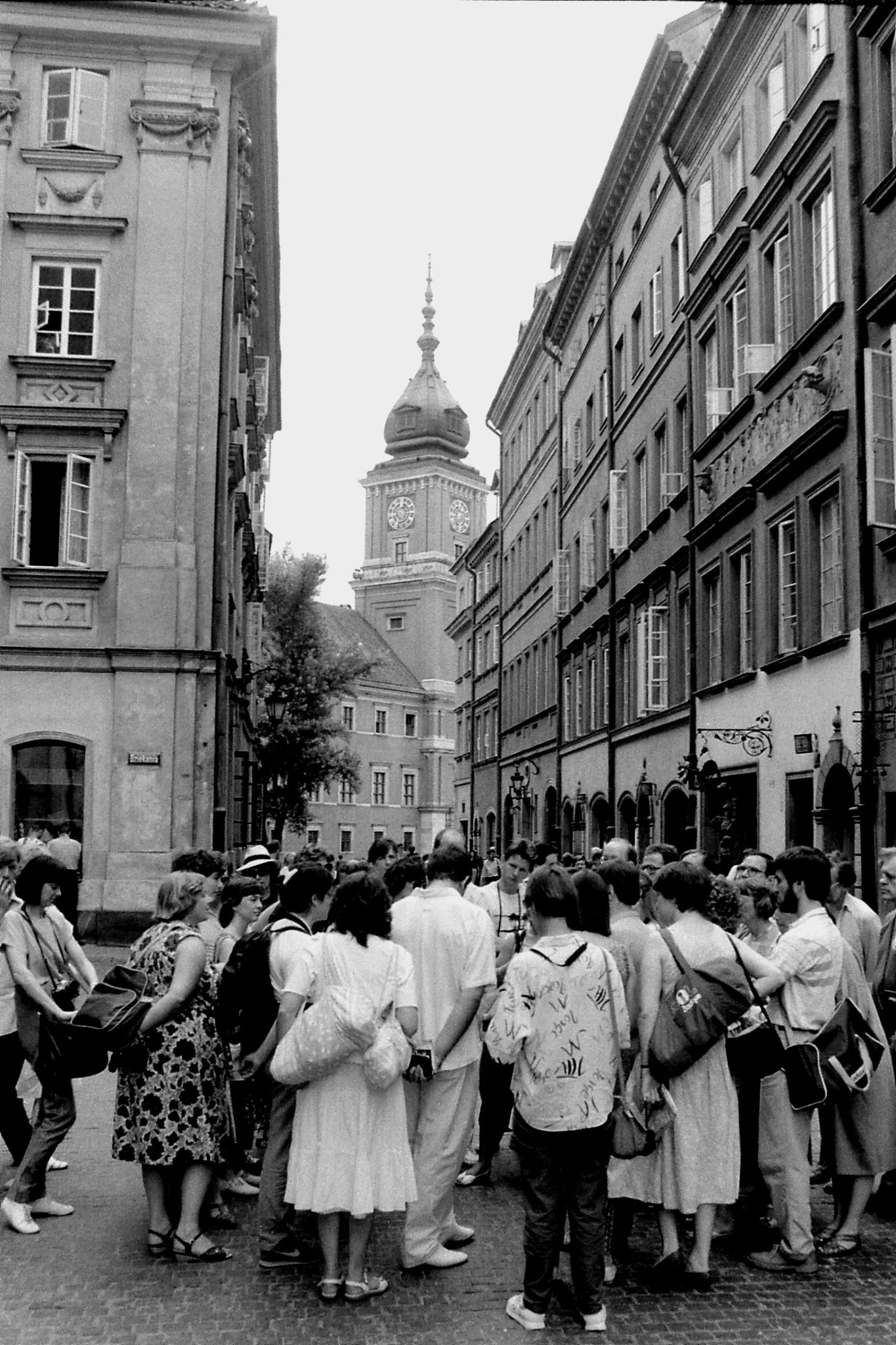 22/8/1988: 17: Warsaw Old City