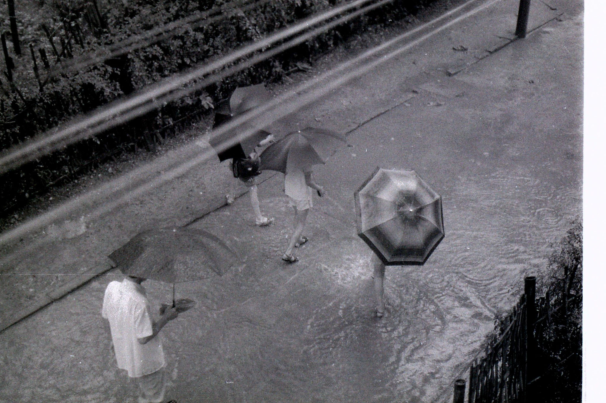16/6/1989: 28: rainstorm at Zheda