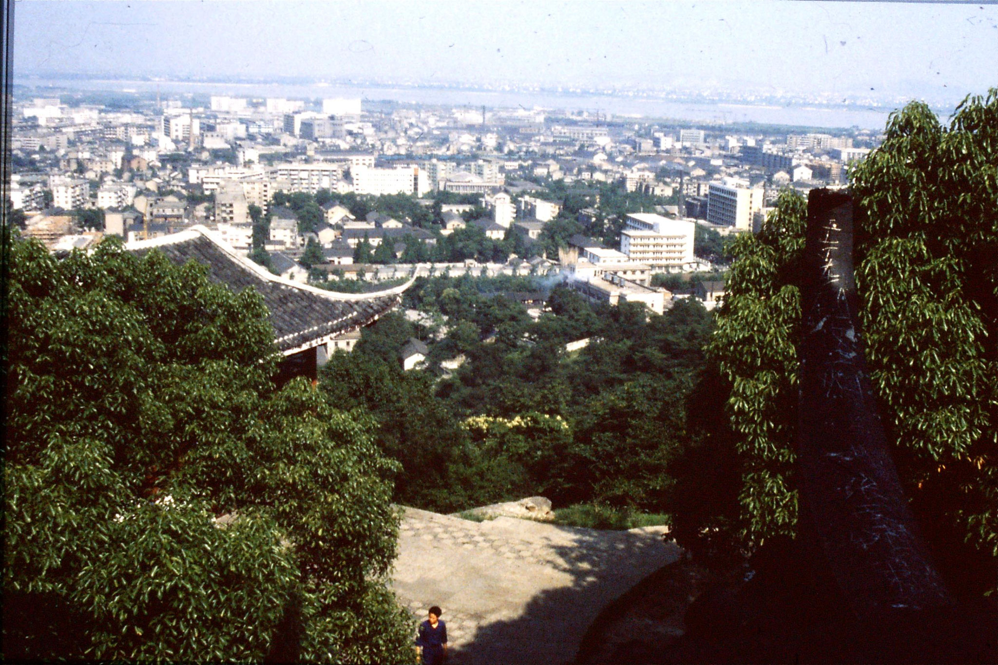 24/6/1989: 13: SE from Ziyang hill