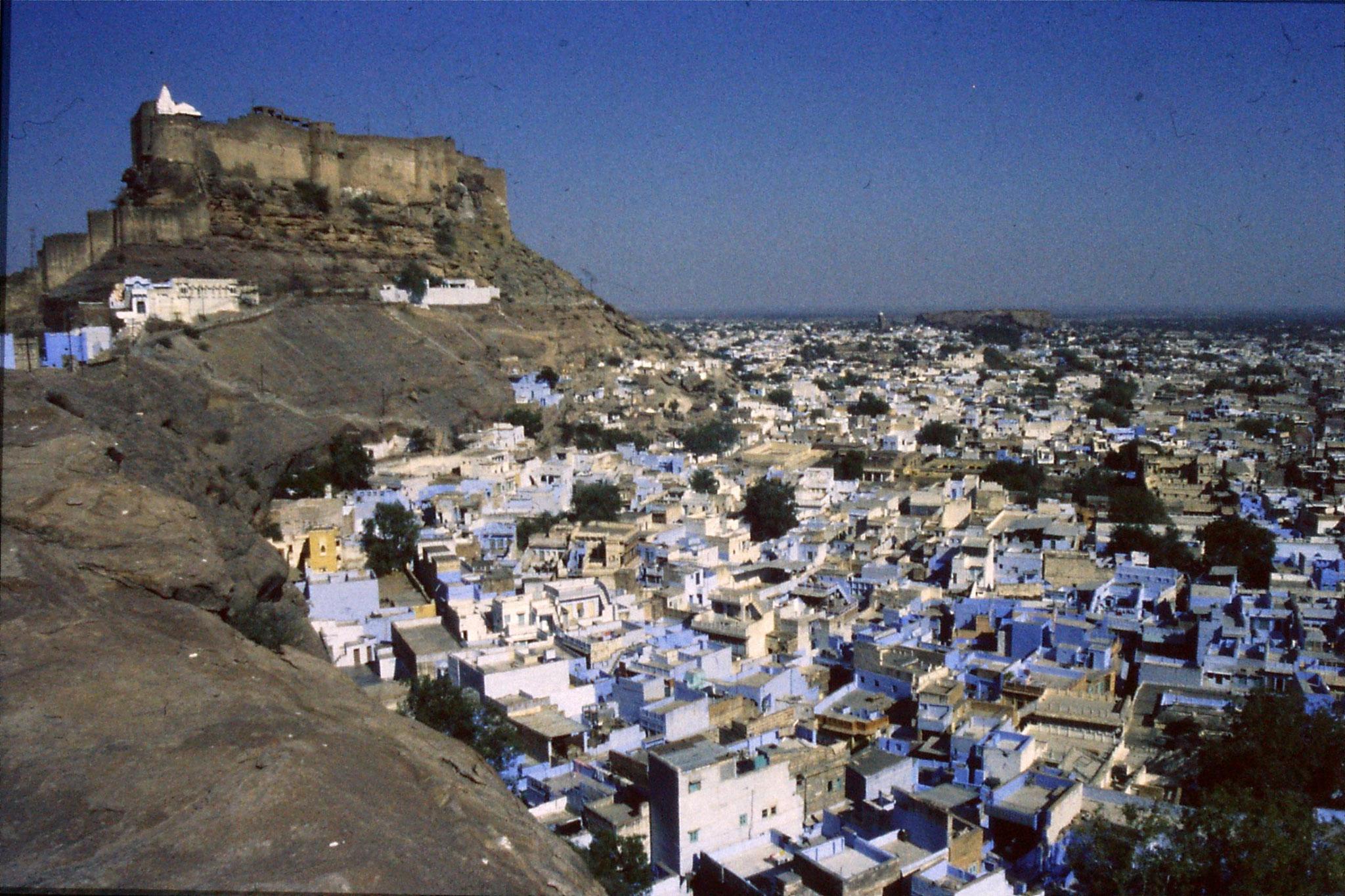 29/11/1989: 12: Jodhpur view from Rock