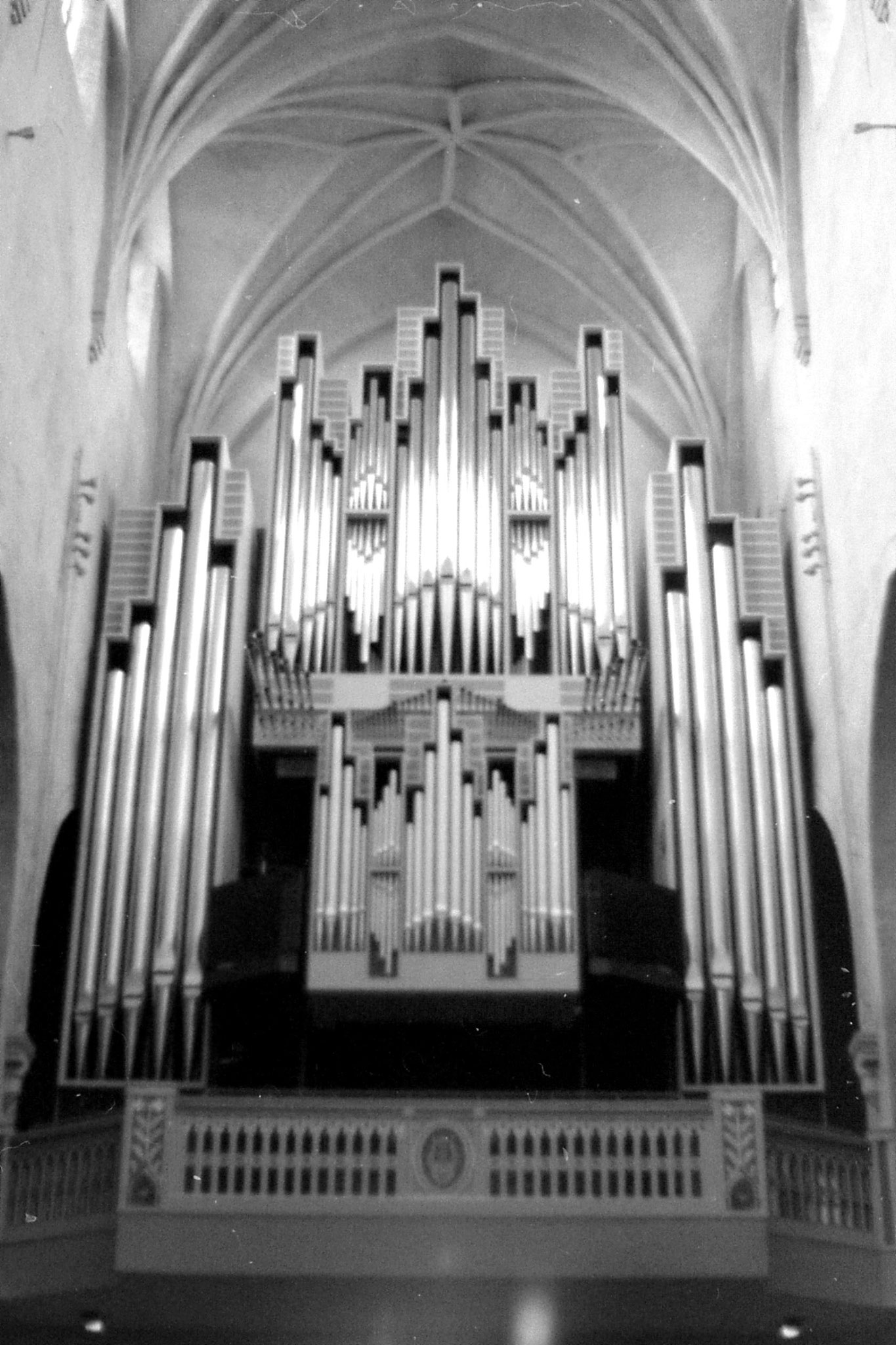 7/10/1988: 34: organ in Turkku cathedral
