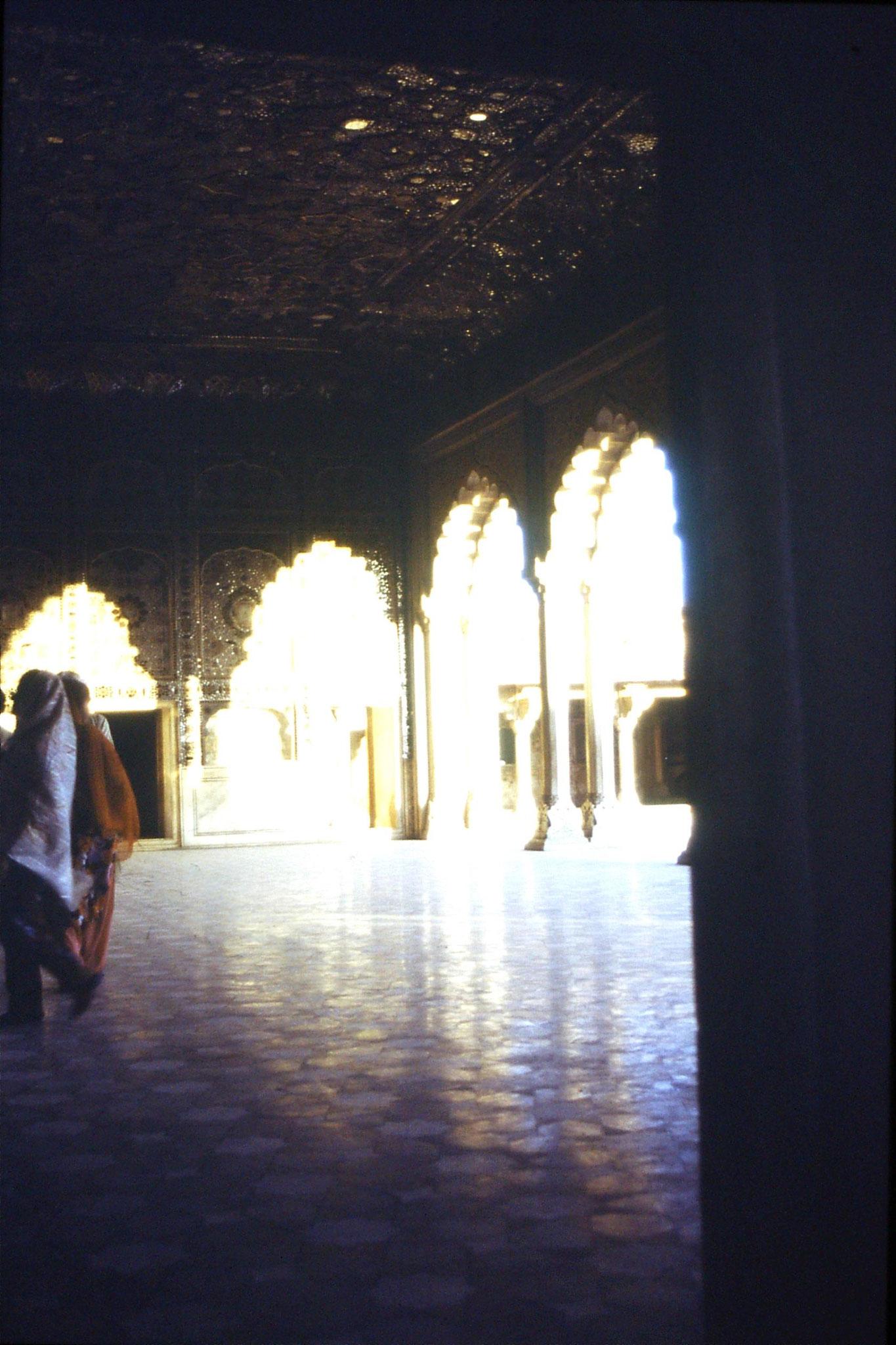 15/11/1989: 9: Lahore Fort, Shah Burj Shish Mahal