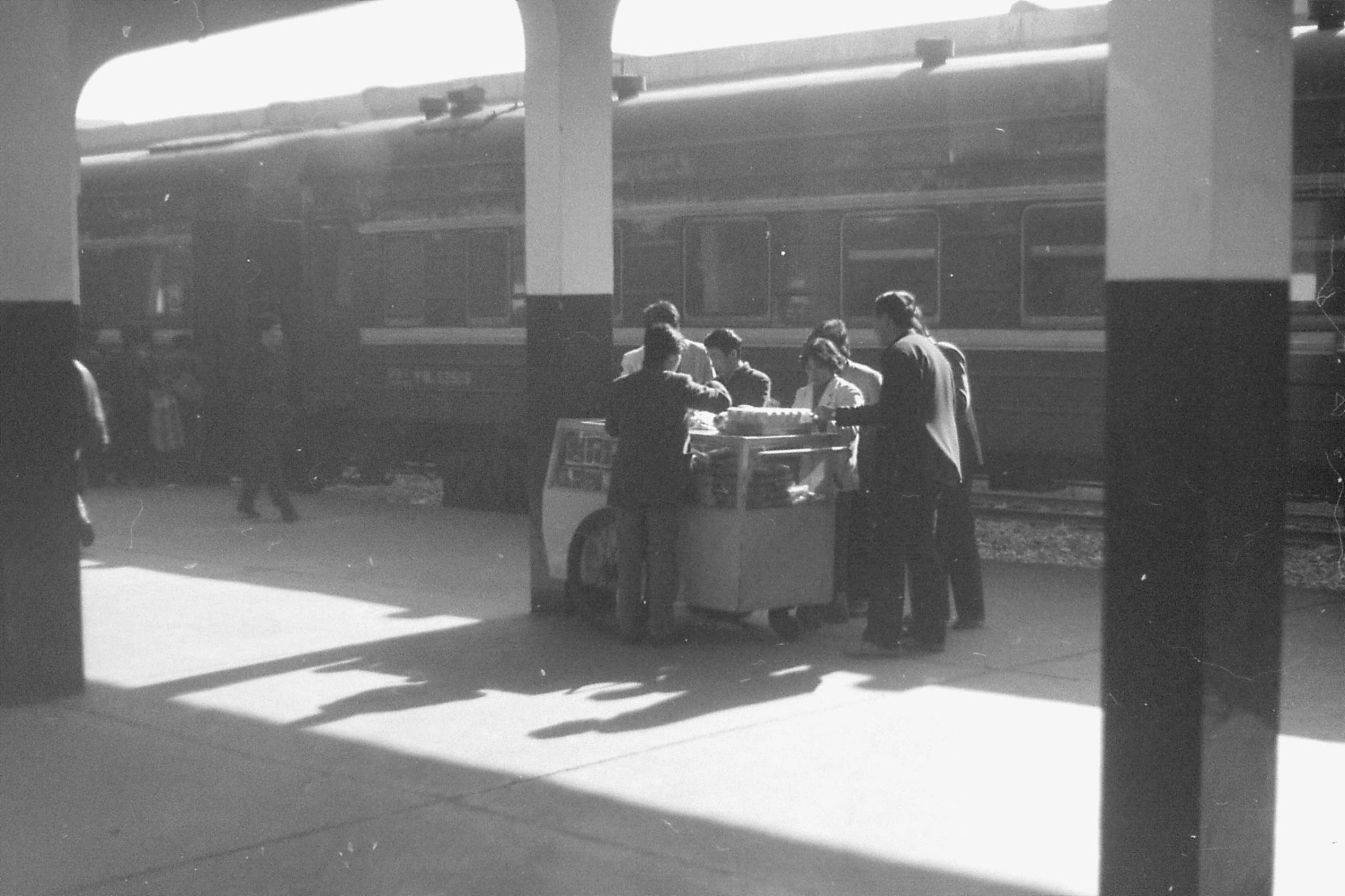 13/12/1988: 7: train from Nanjing to Shanghai