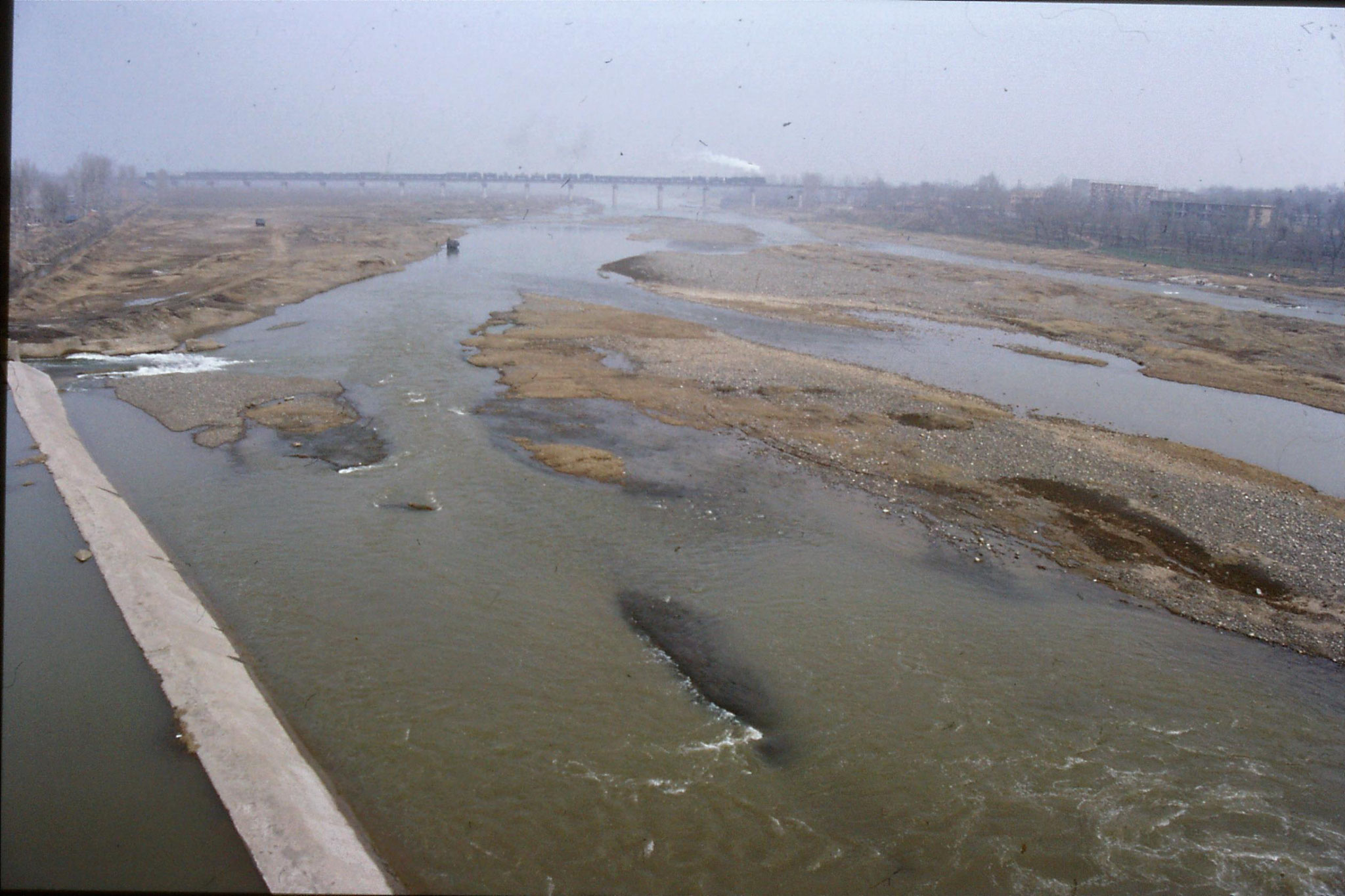 28/2/1989: 20: steam train over Yi River