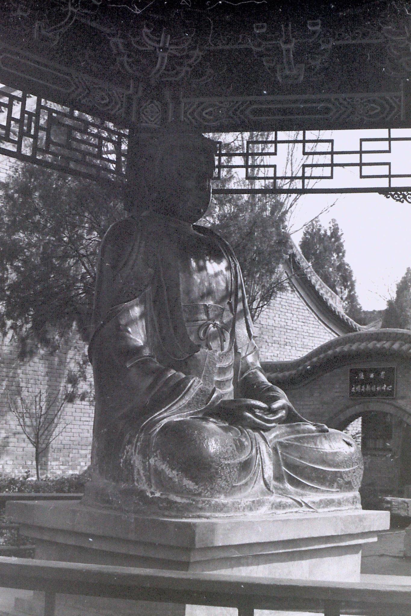 7/3/1989: 24: Xianyang museum buddha
