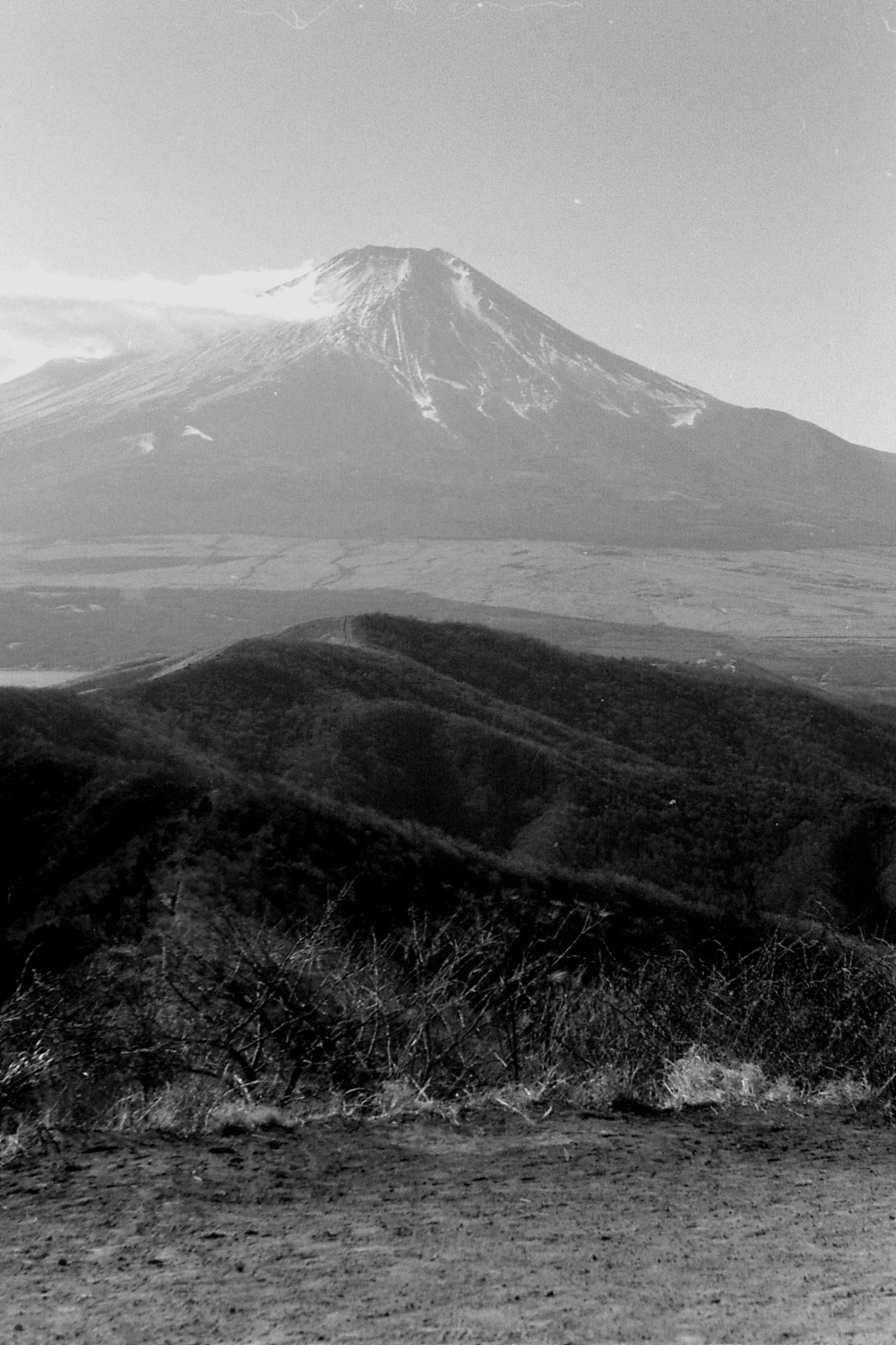 30/12/1988: 1: Fuji from top of Ishiwari