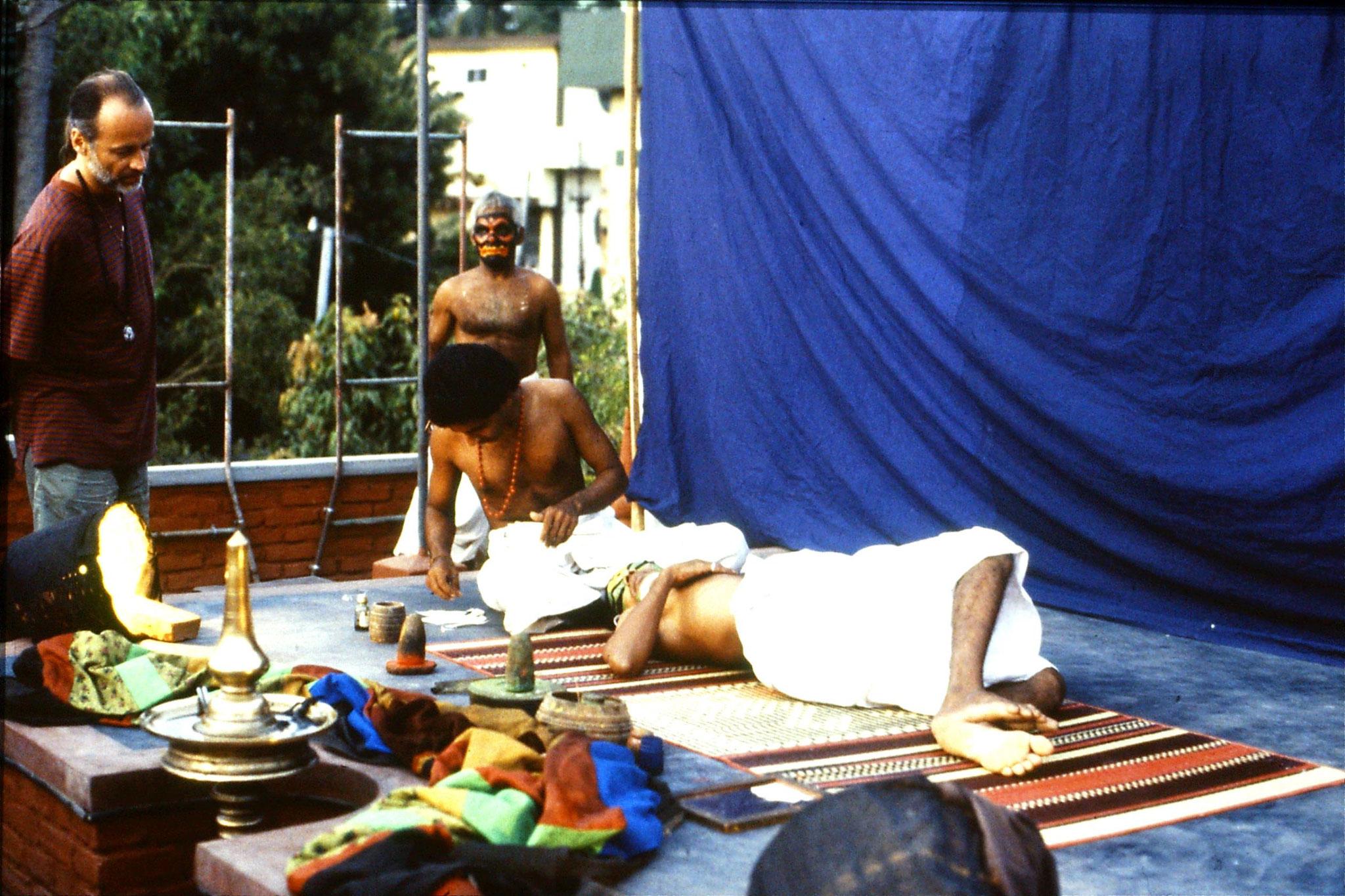106/16: 24/2/1990 Erkunaculum - See India Foundation - Make up - Kathakali Dance