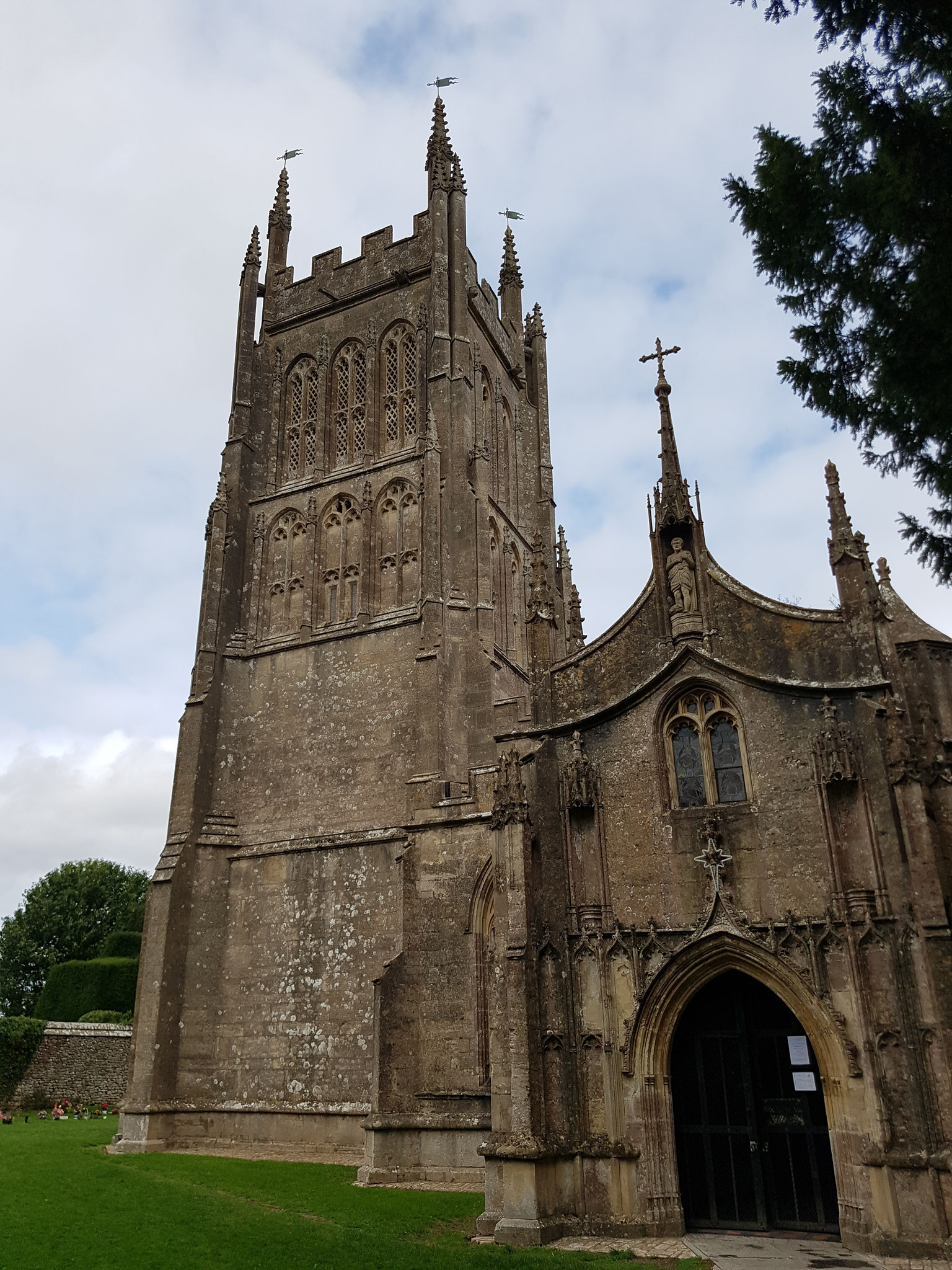 St Andrew with Somerset four decker tower