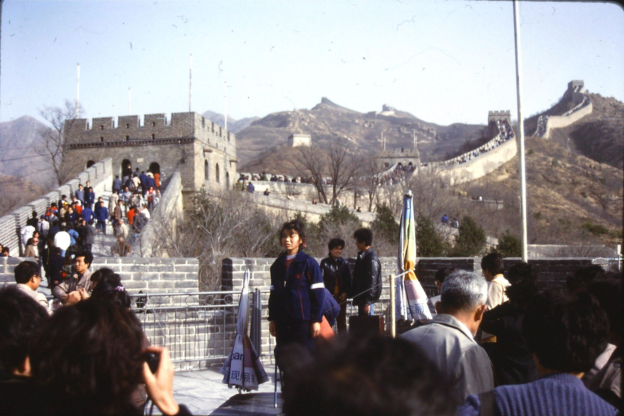 12/11/1988: 8: Great Wall at Badaling