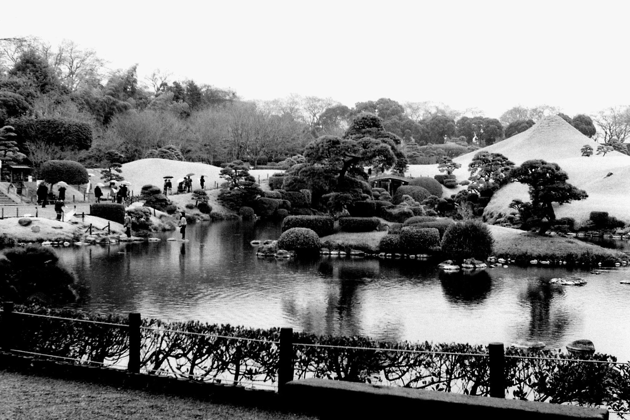 22/1/1989: 17: garden at Kumamoto