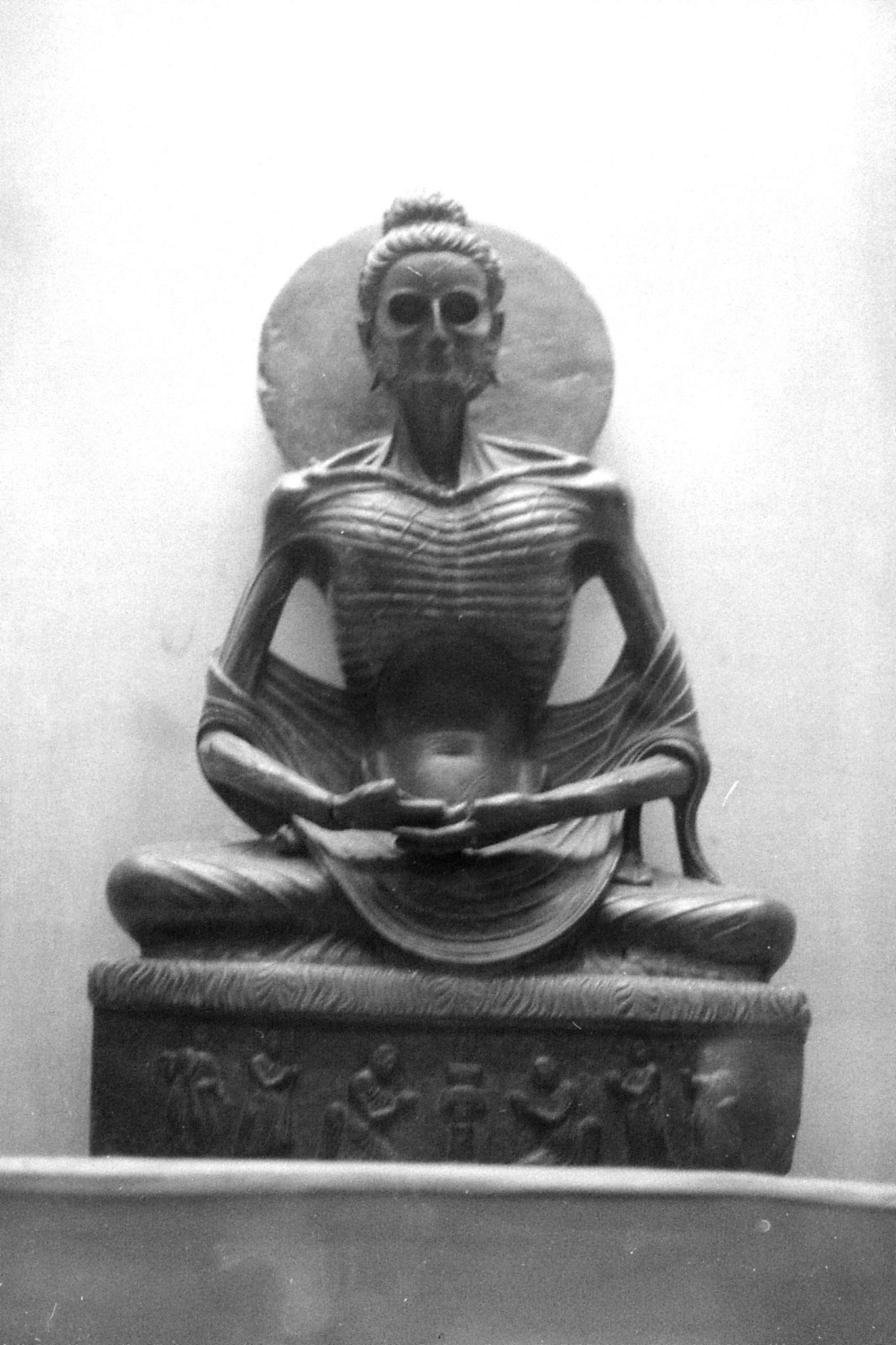 10/11/1989: 37: Lahore museum: fasting Siddhartha