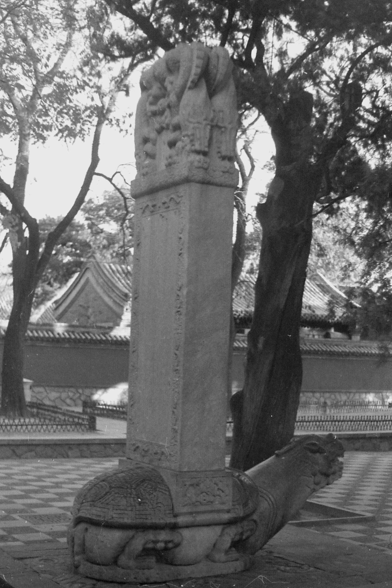 24/11/1988: 16:tour of Sleeping Buddha Xiangshan