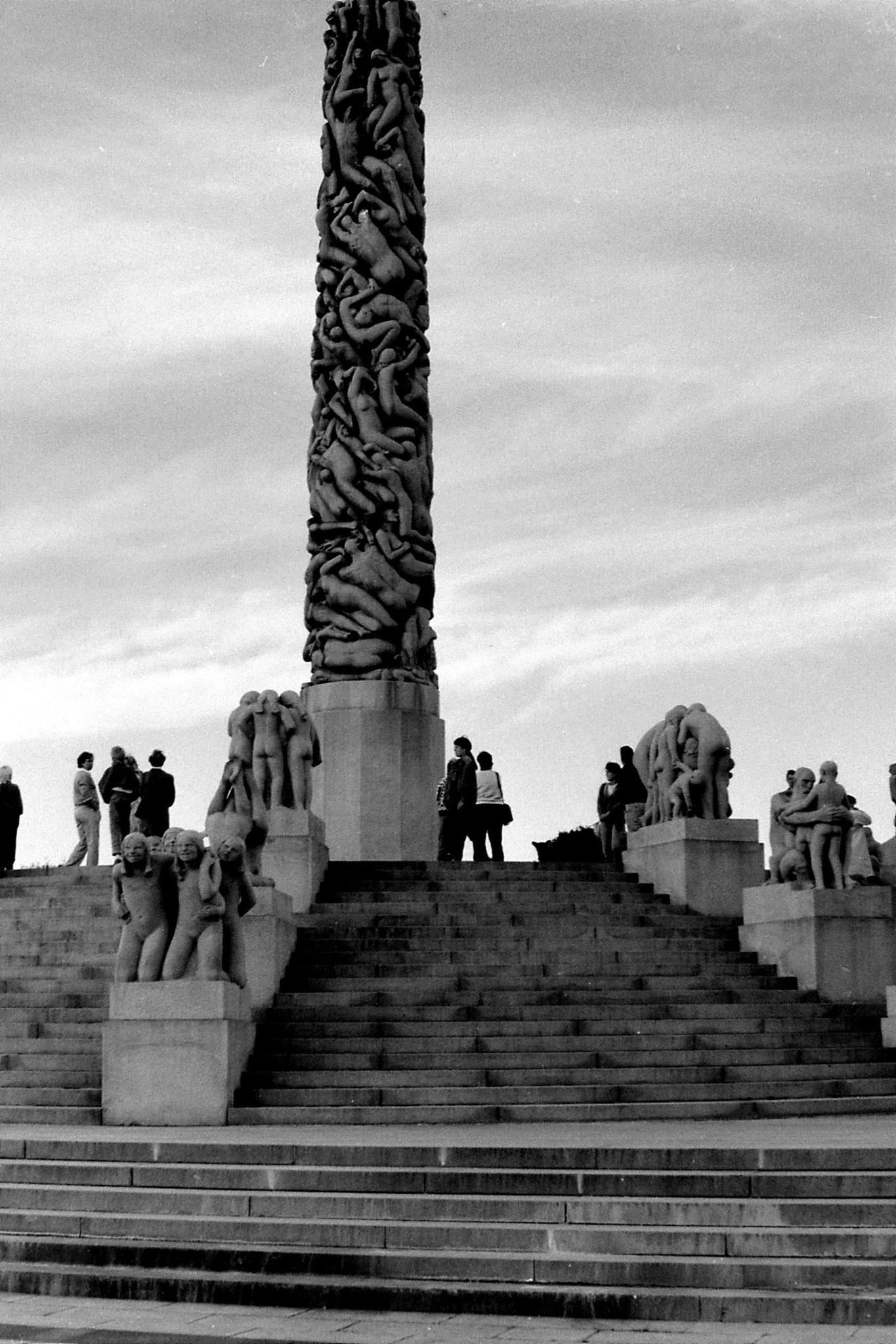 17/9/1988: 14: Vigeland sculpture park