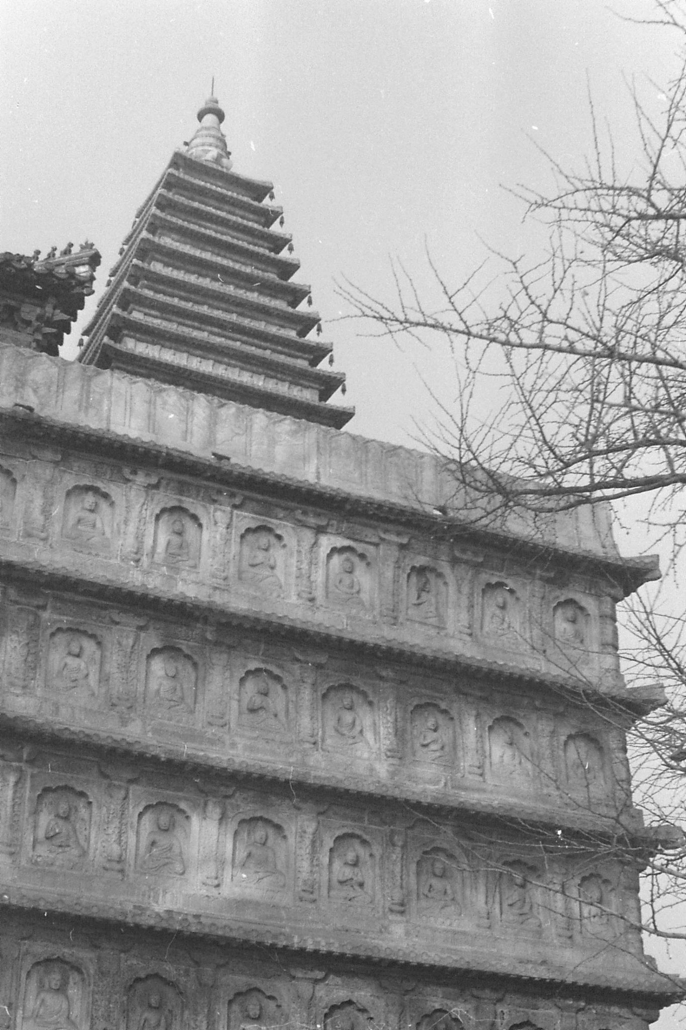 29/11/1988: Wutasi - Five Pagoda Temple