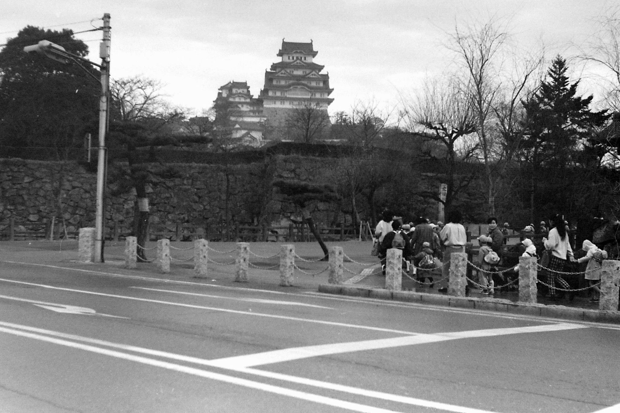 18/1/1989: 5: Himeji Castle