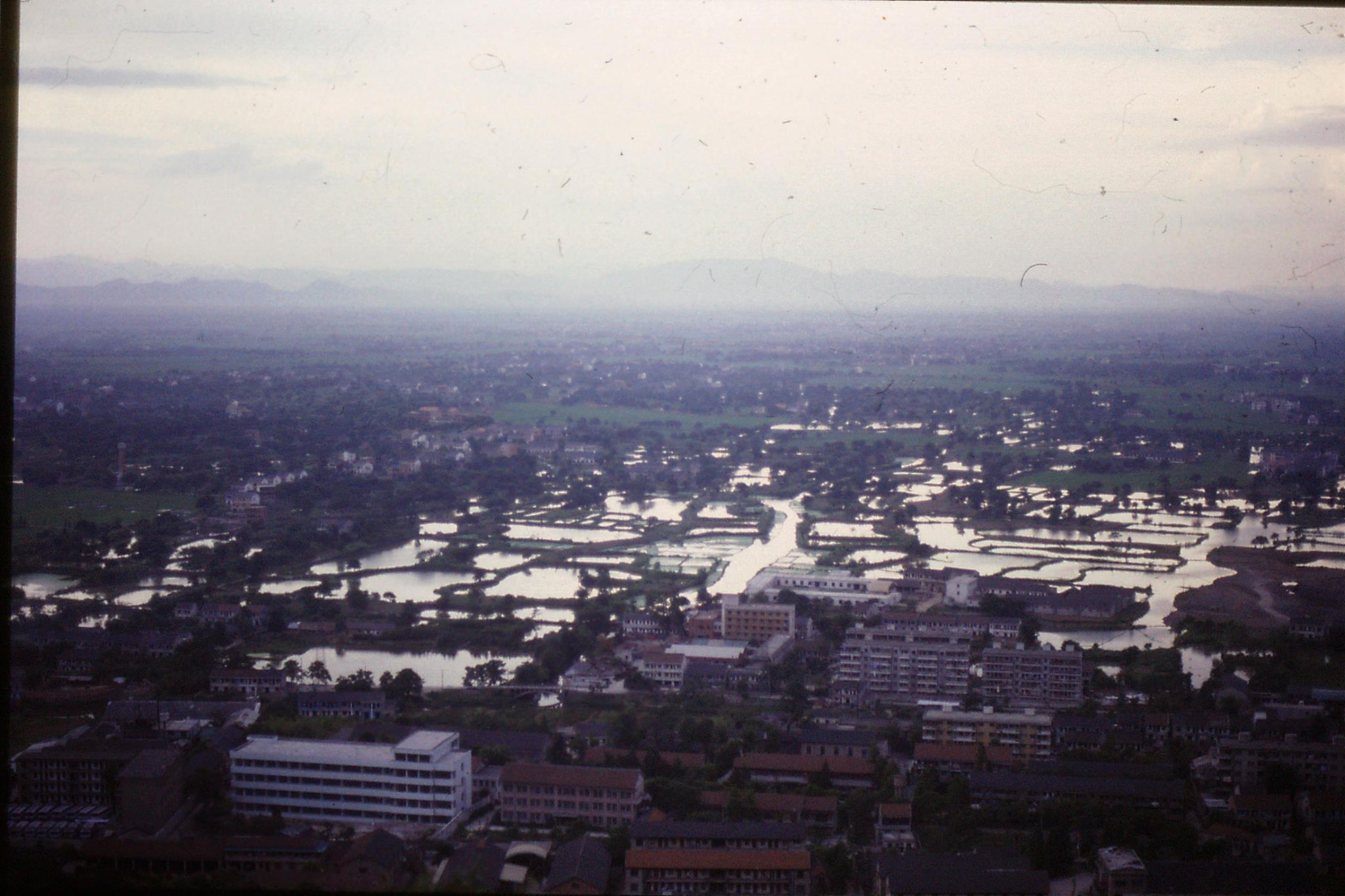 13/6/1989: 18: view from Lao He hill