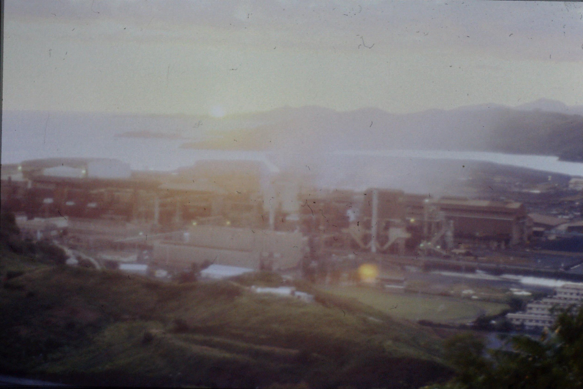 19/7/1990: 20: Noumea, nickel smelter
