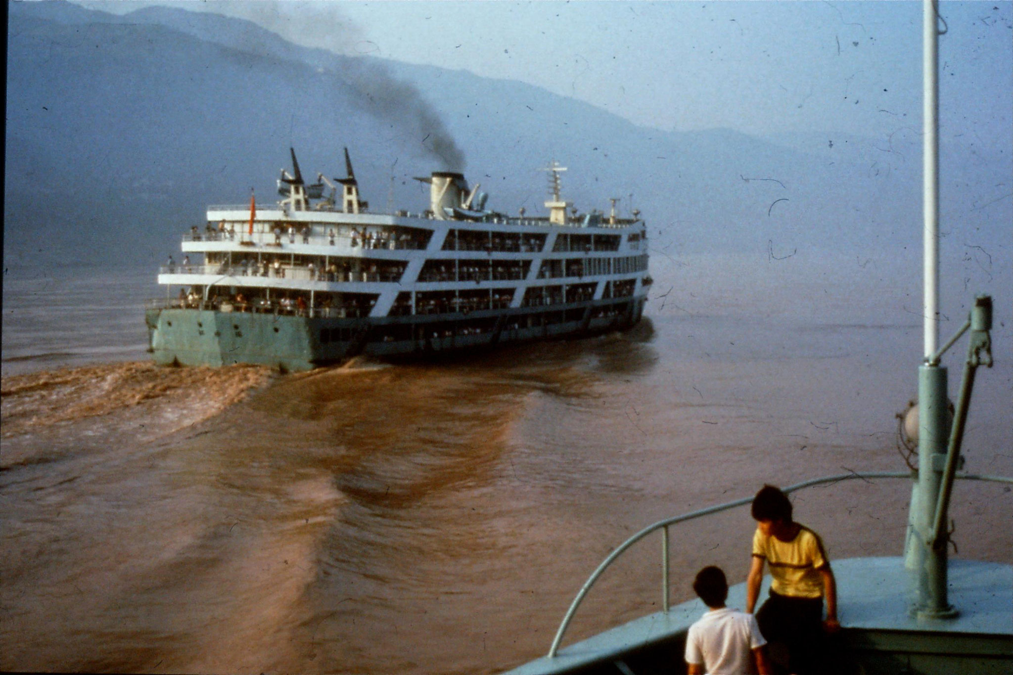 11/8/1989:16:0830 ferry like ours overtaking