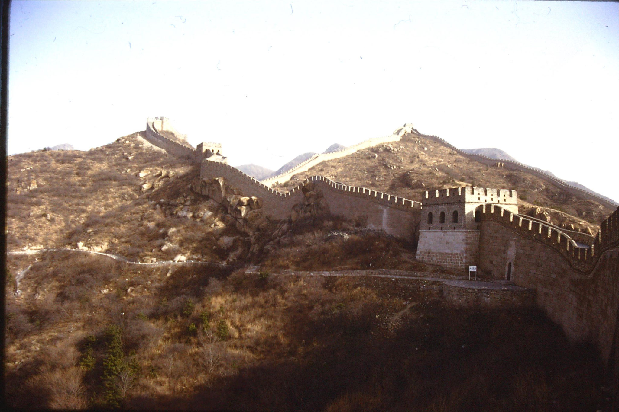12/11/1988: 2: Great Wall at Badaling