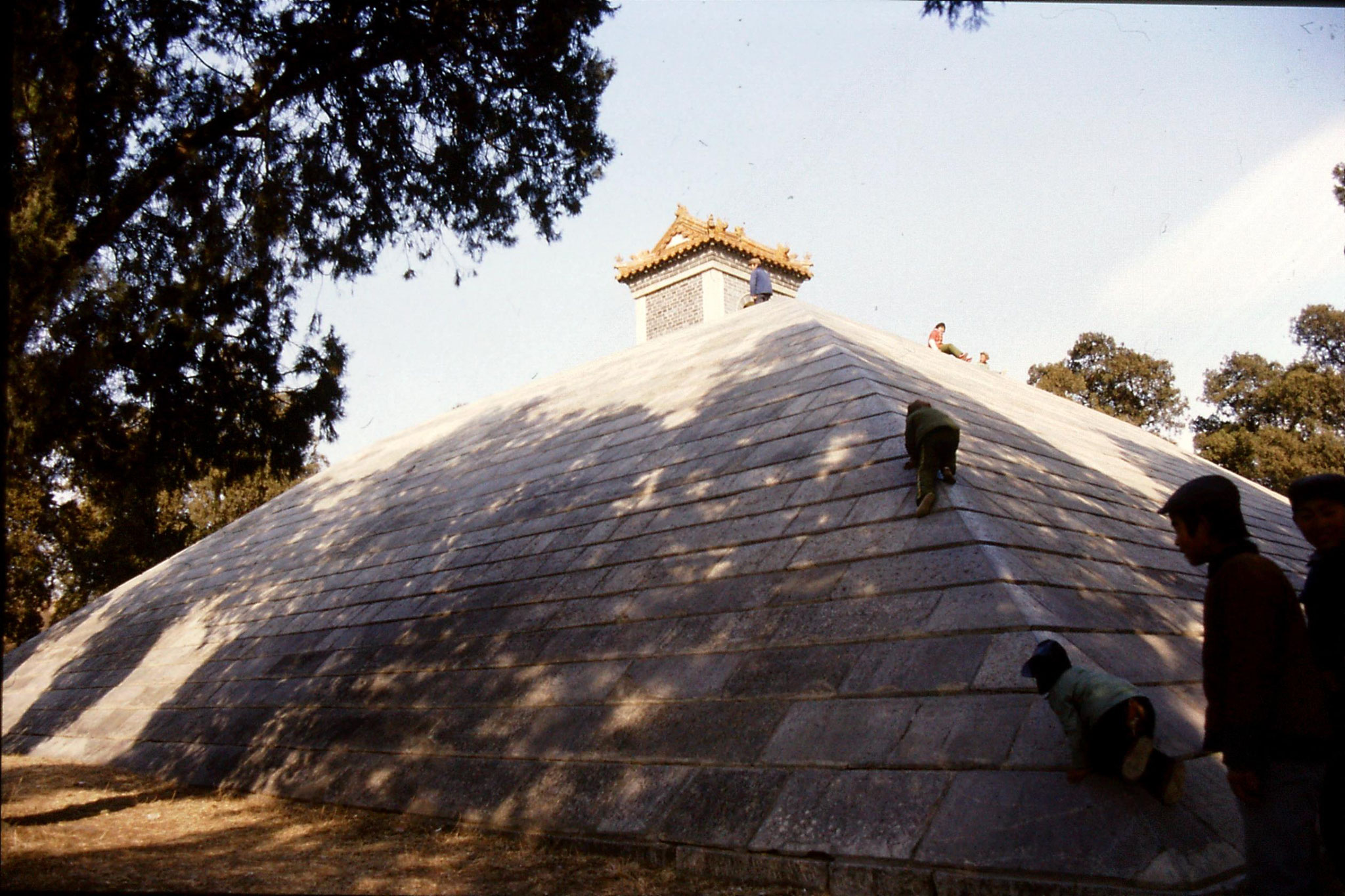 21/2/1989: 5: Qufu Shao Hao tomb