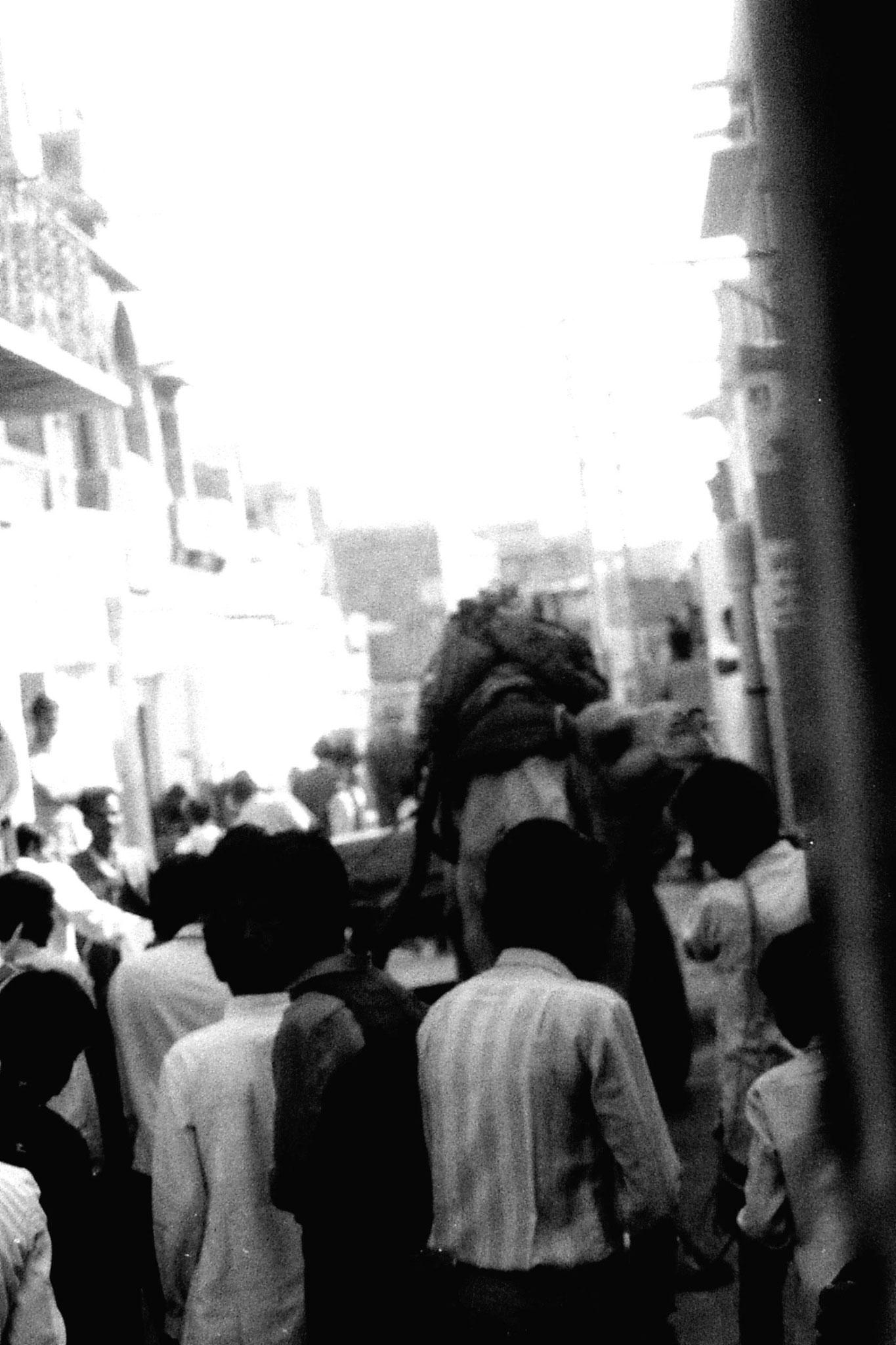 3/12/1989: 33: Jaisalmer camel and wedding procession