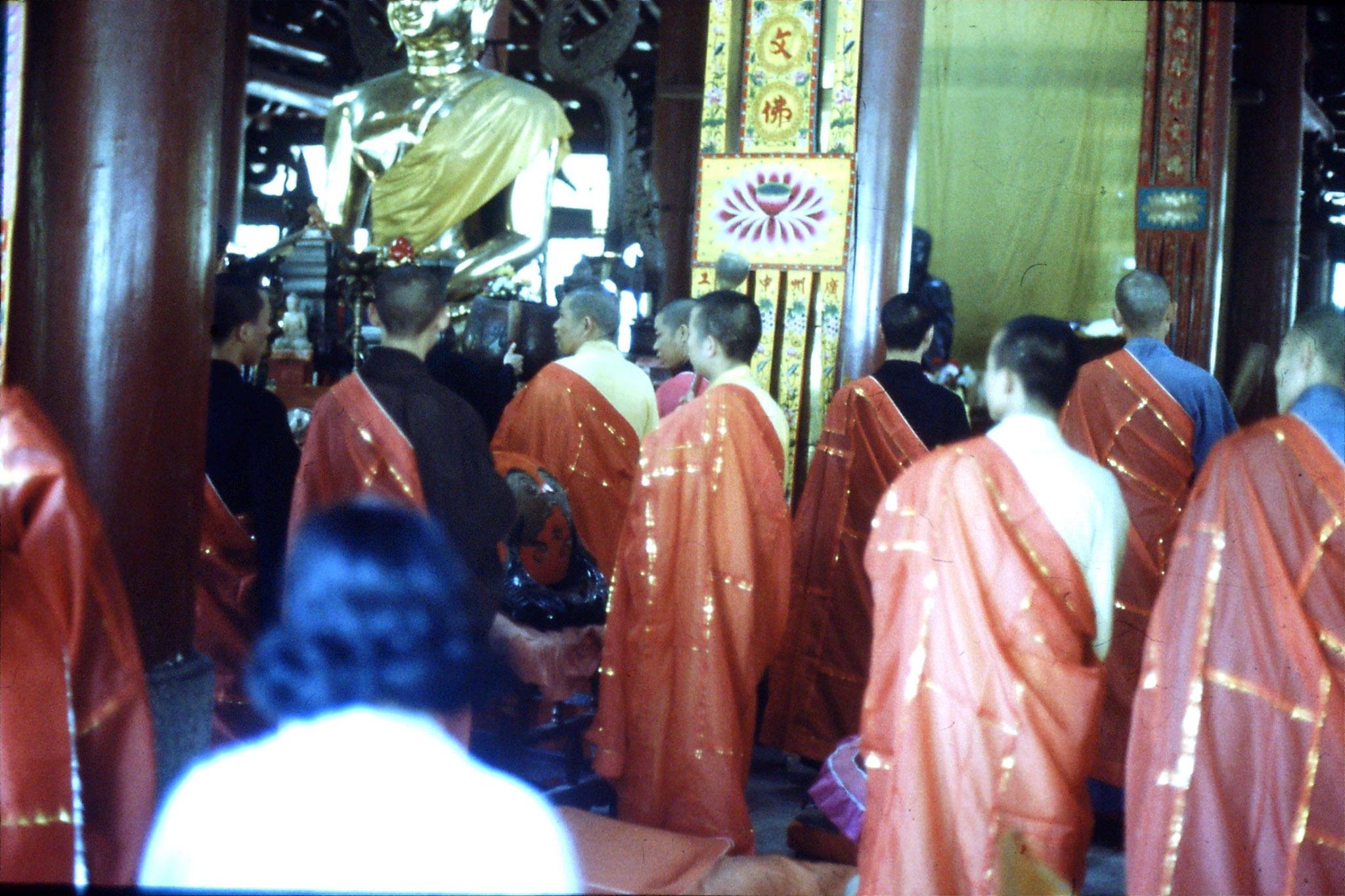 18/5/1989: 4: Guangzhou Filial Piety Temple ceremony