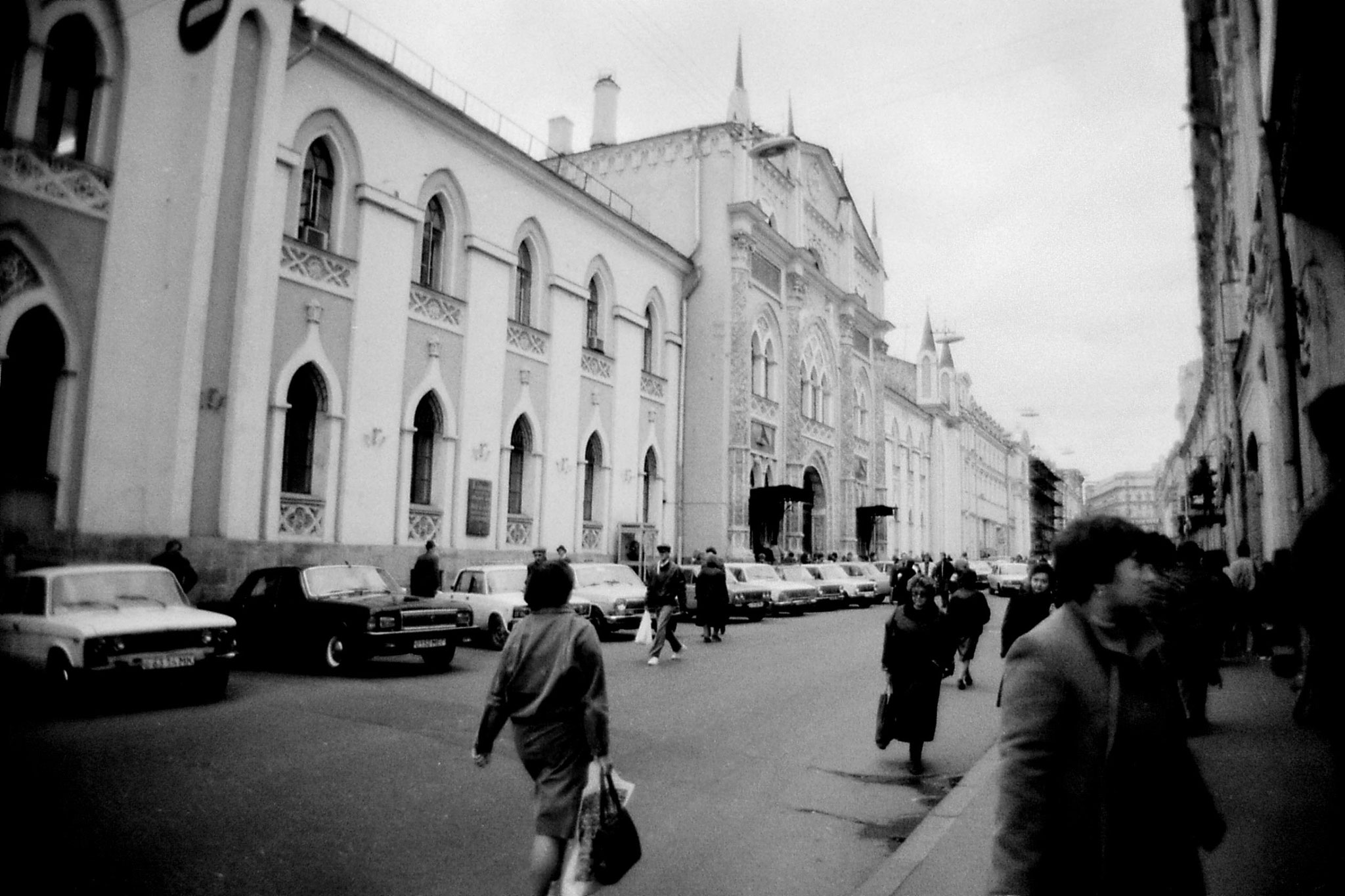 17/10/1988: 3: oldest press in Moscow and GUM