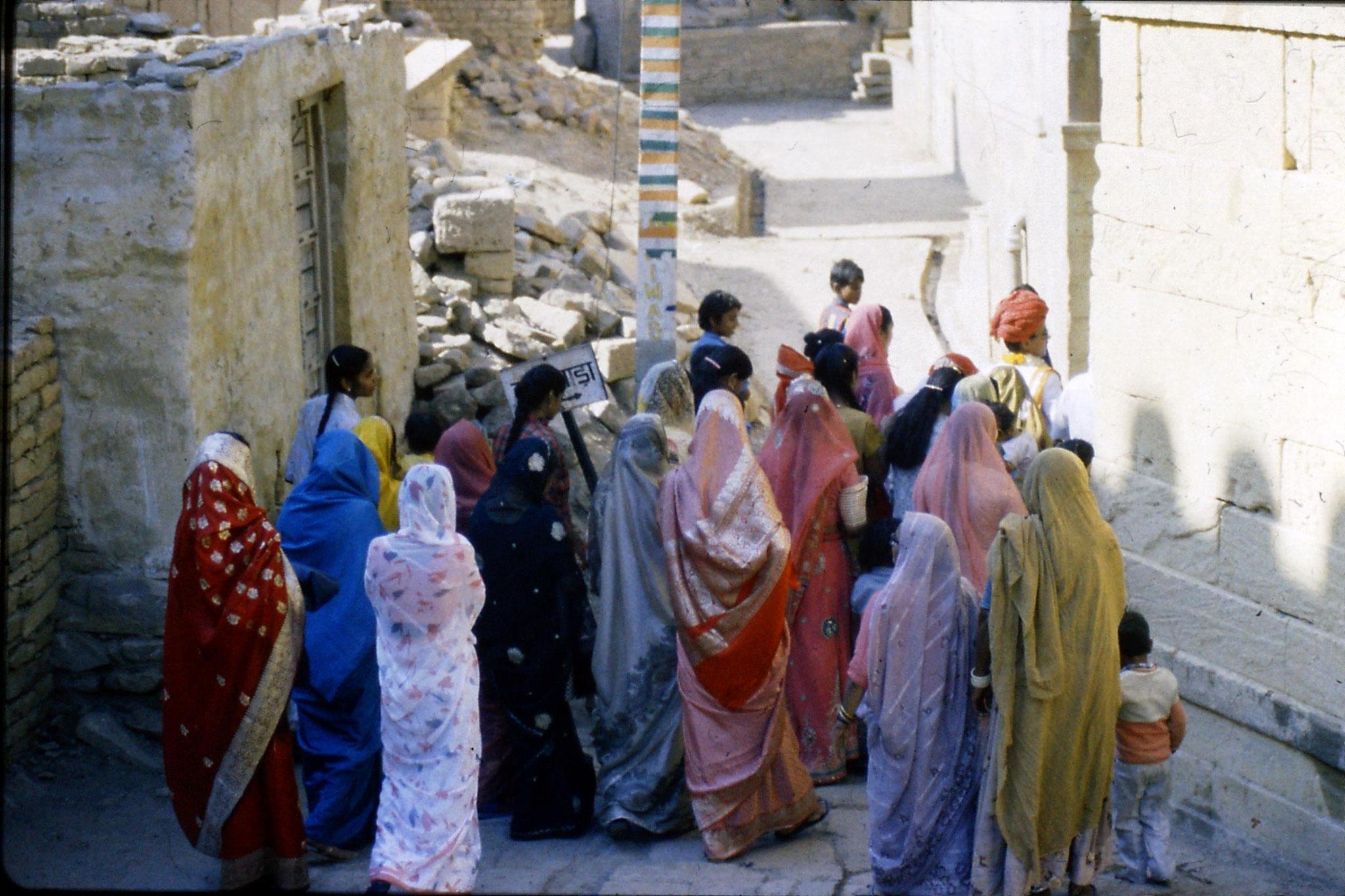 3/12/1989: 5: Jaisalmer wedding procession
