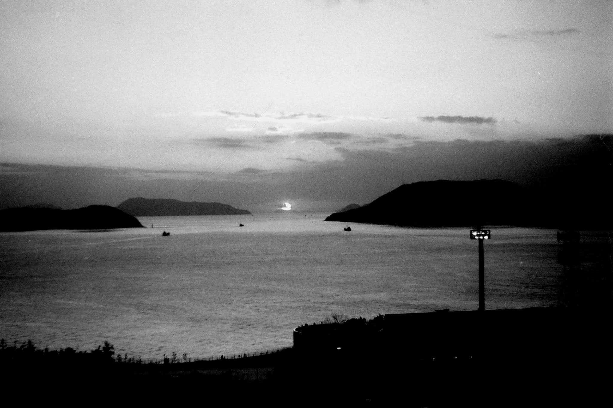 24/1/1989: 24:Seto Sea at sunset
