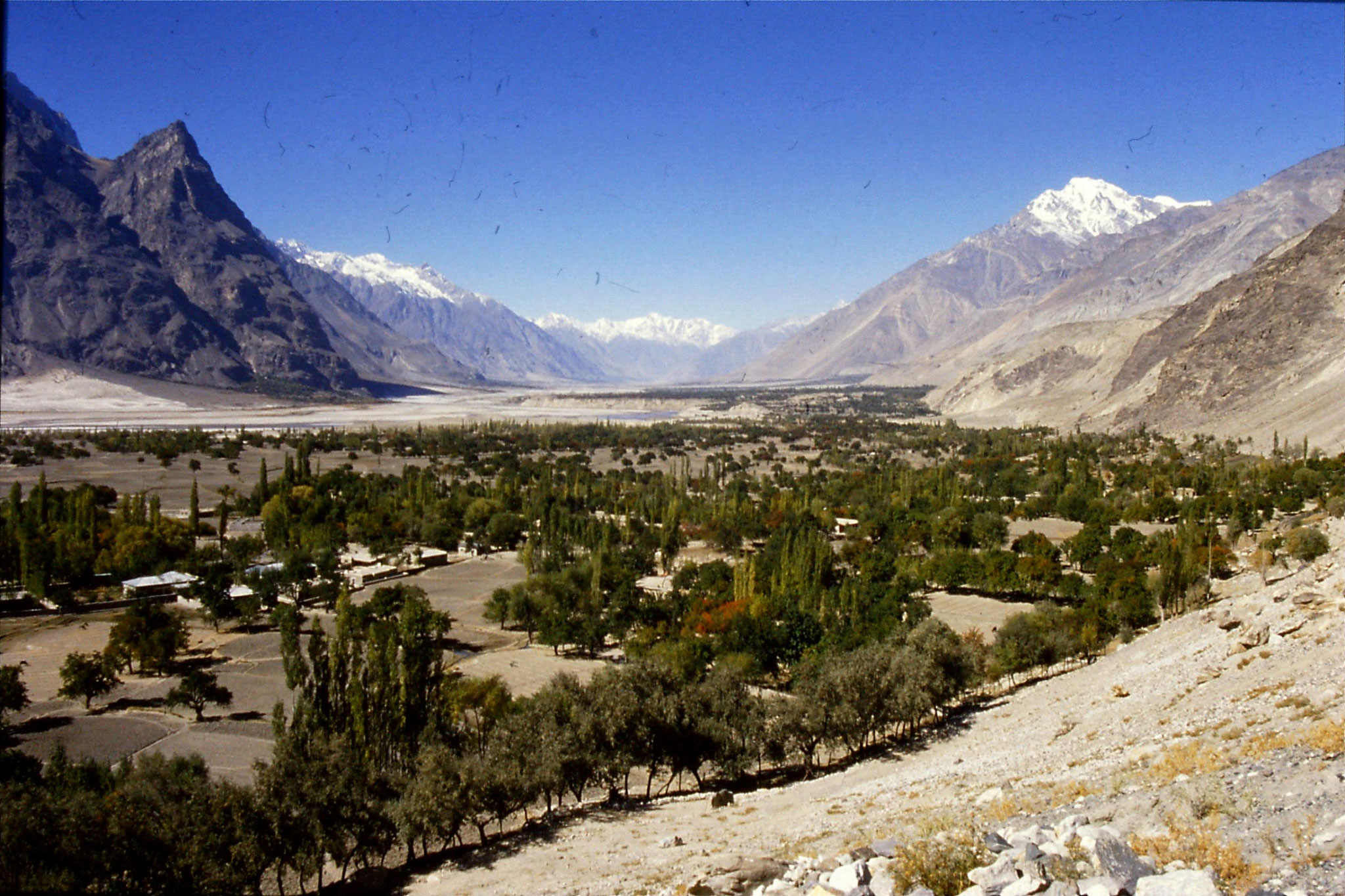 20/10/1989: 13: Shigar valley looking north