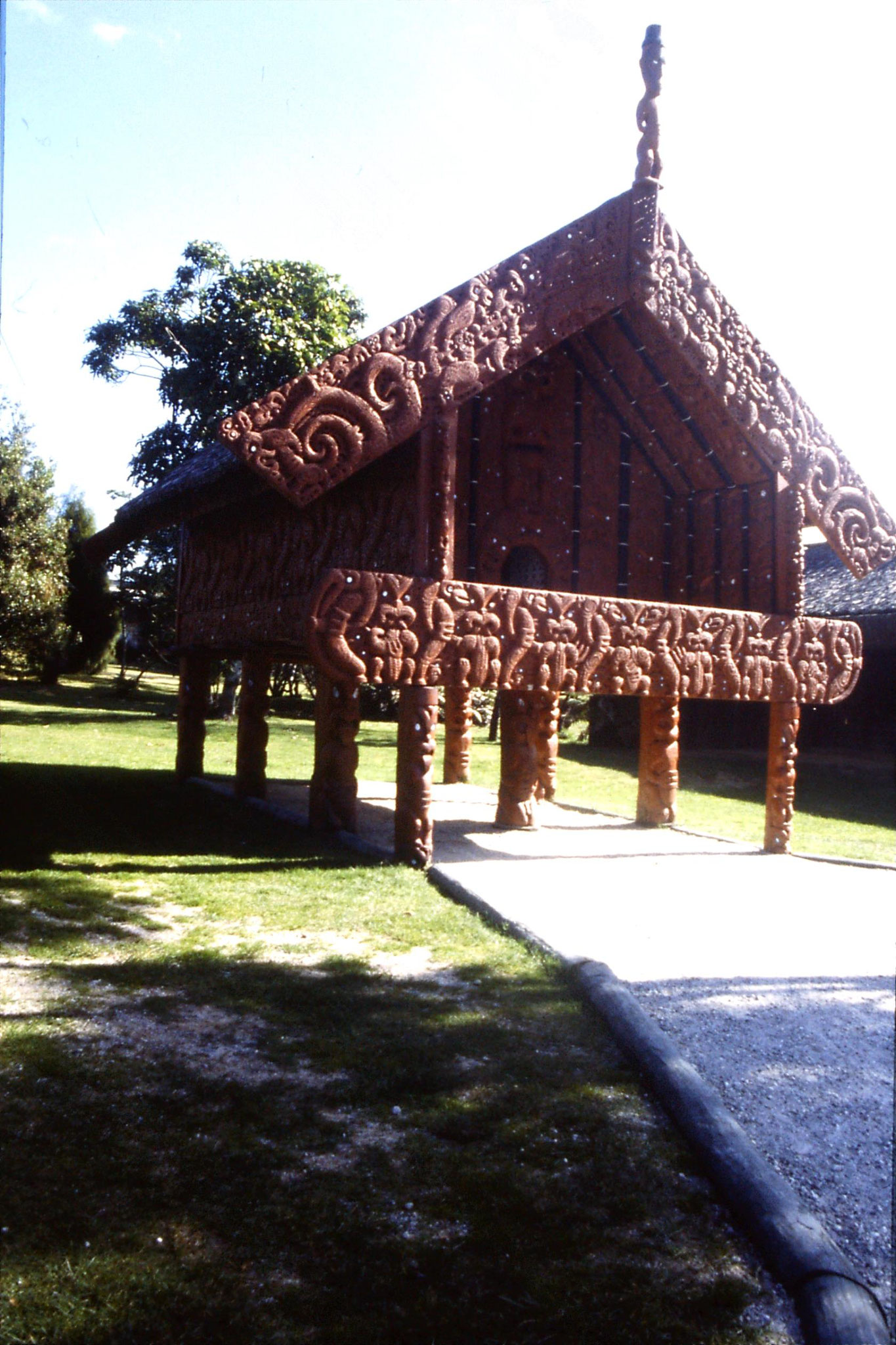 31/8/1990: 34: Rotorua Whakarewarewa