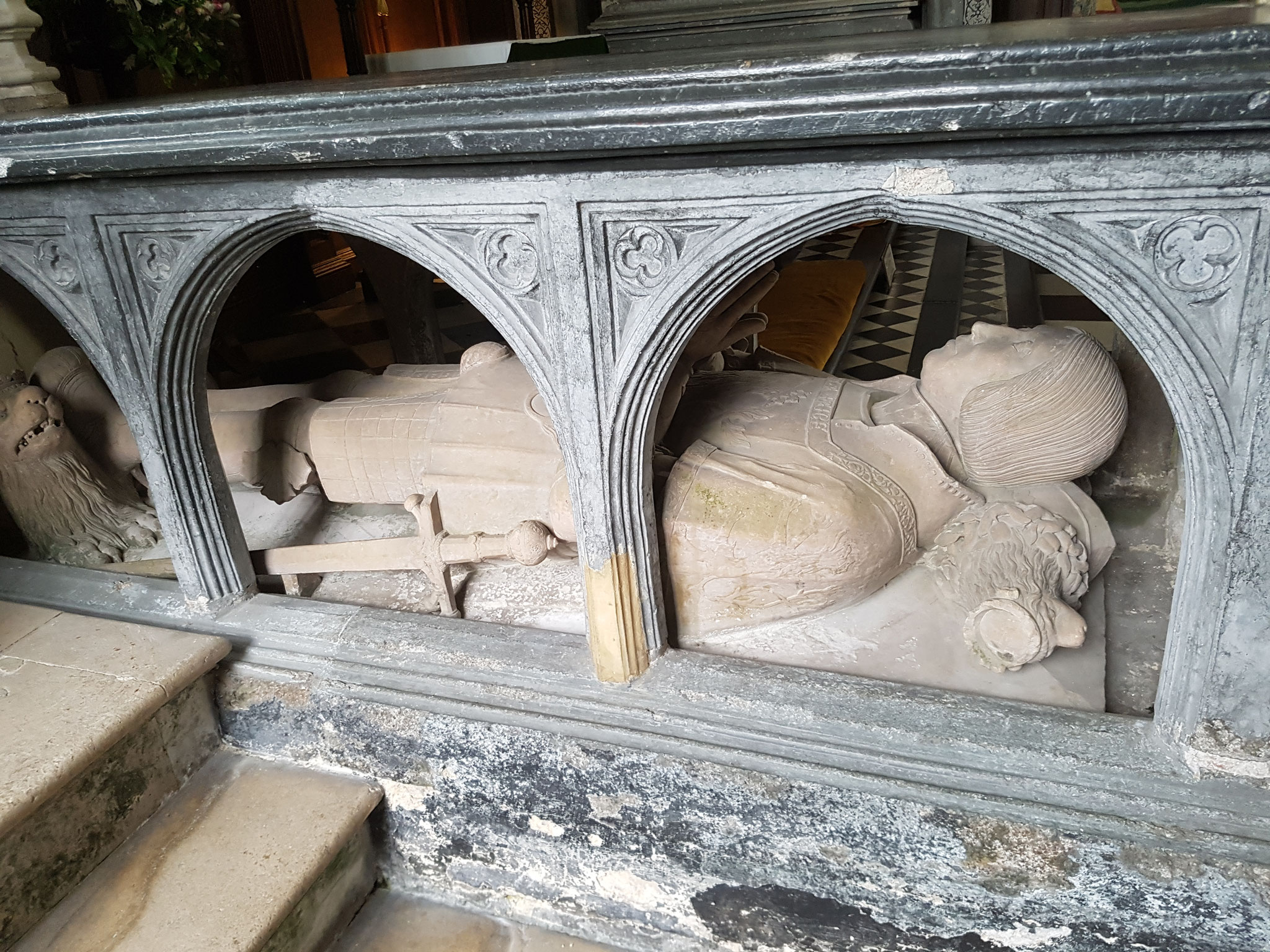 Tomb of Sir John Peche d 1522