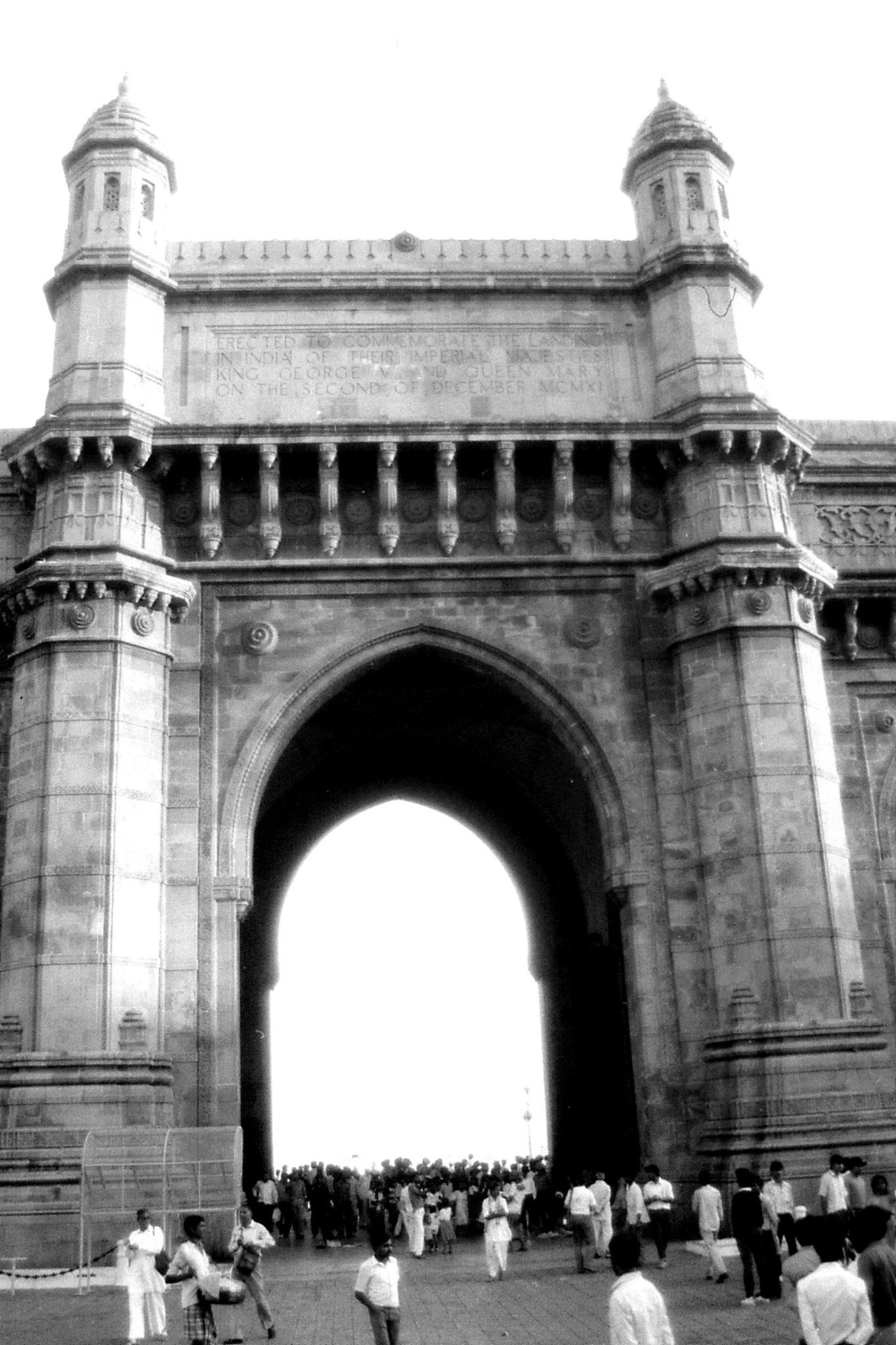 22/12/1989: 32: Bombay Gateway of India