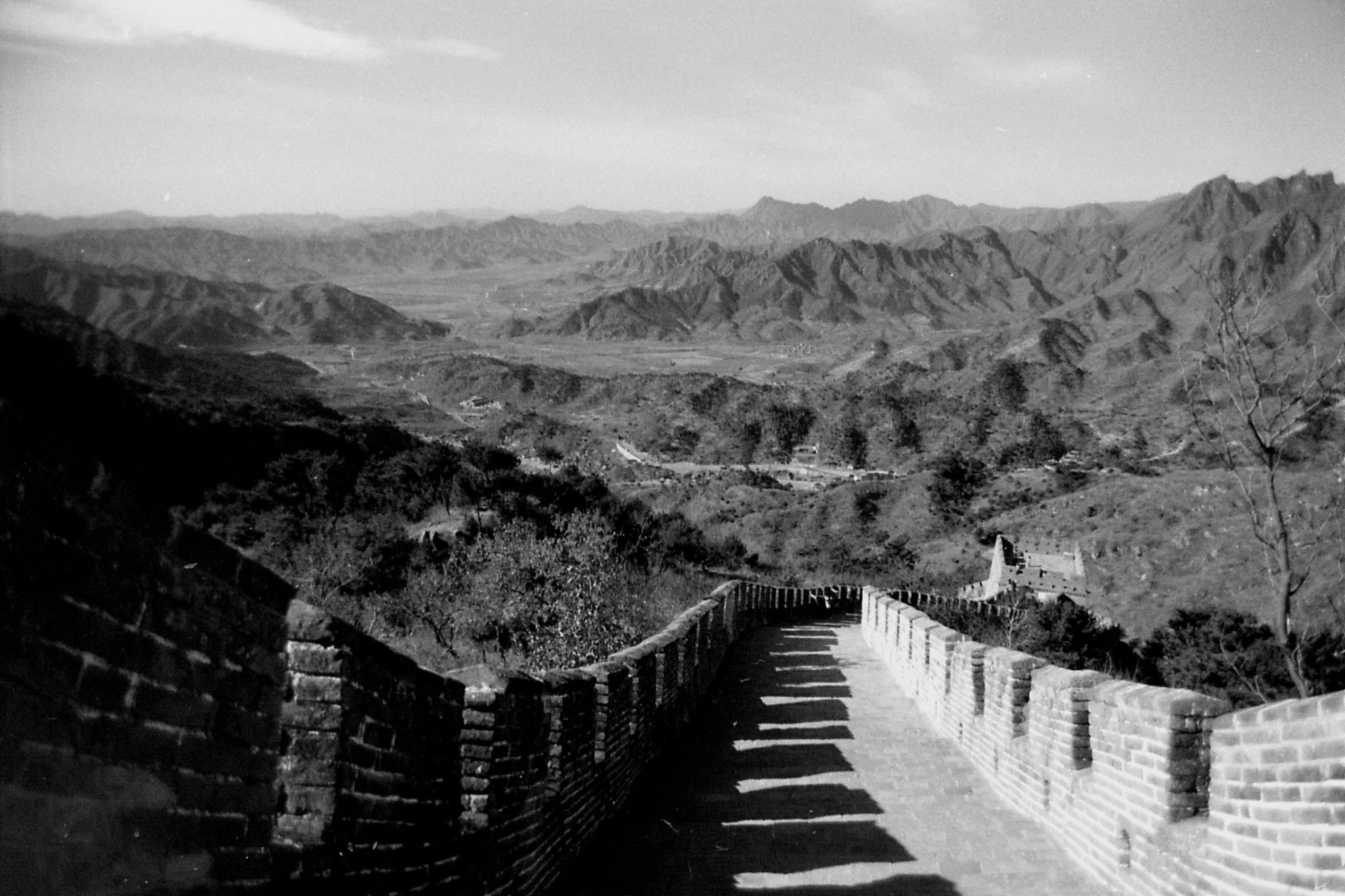 13/11/1988: 11: Great Wall at Mutianyu