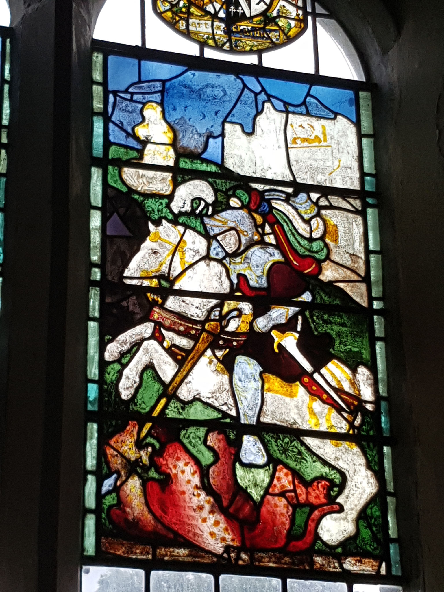 16th century St George and the Dragon