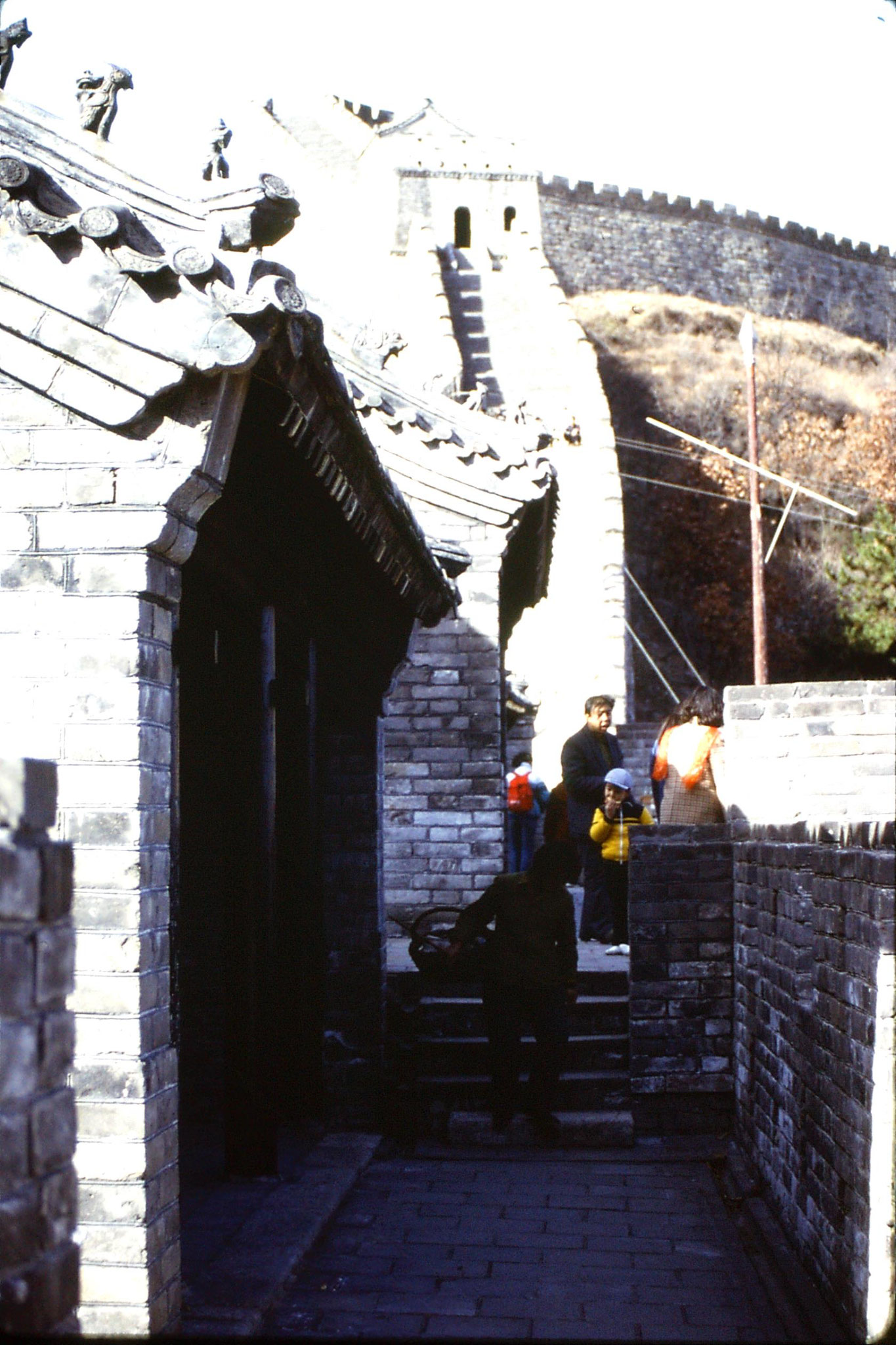 13/11/1988: 24: Great Wall at Mutianyu