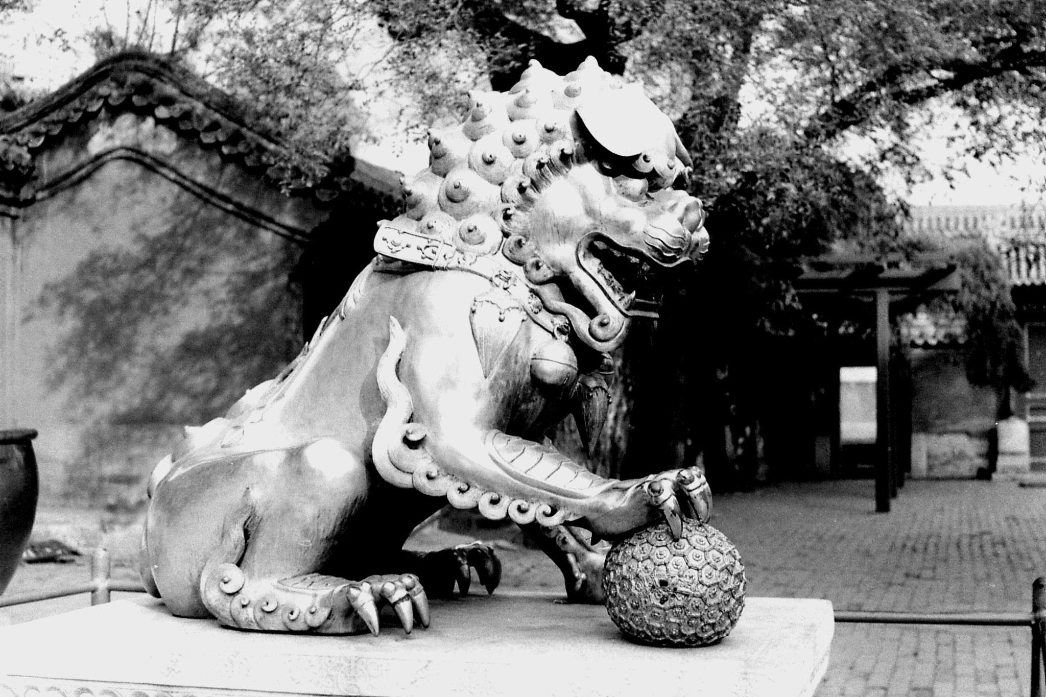 30/10/1988: 3: bronze lion