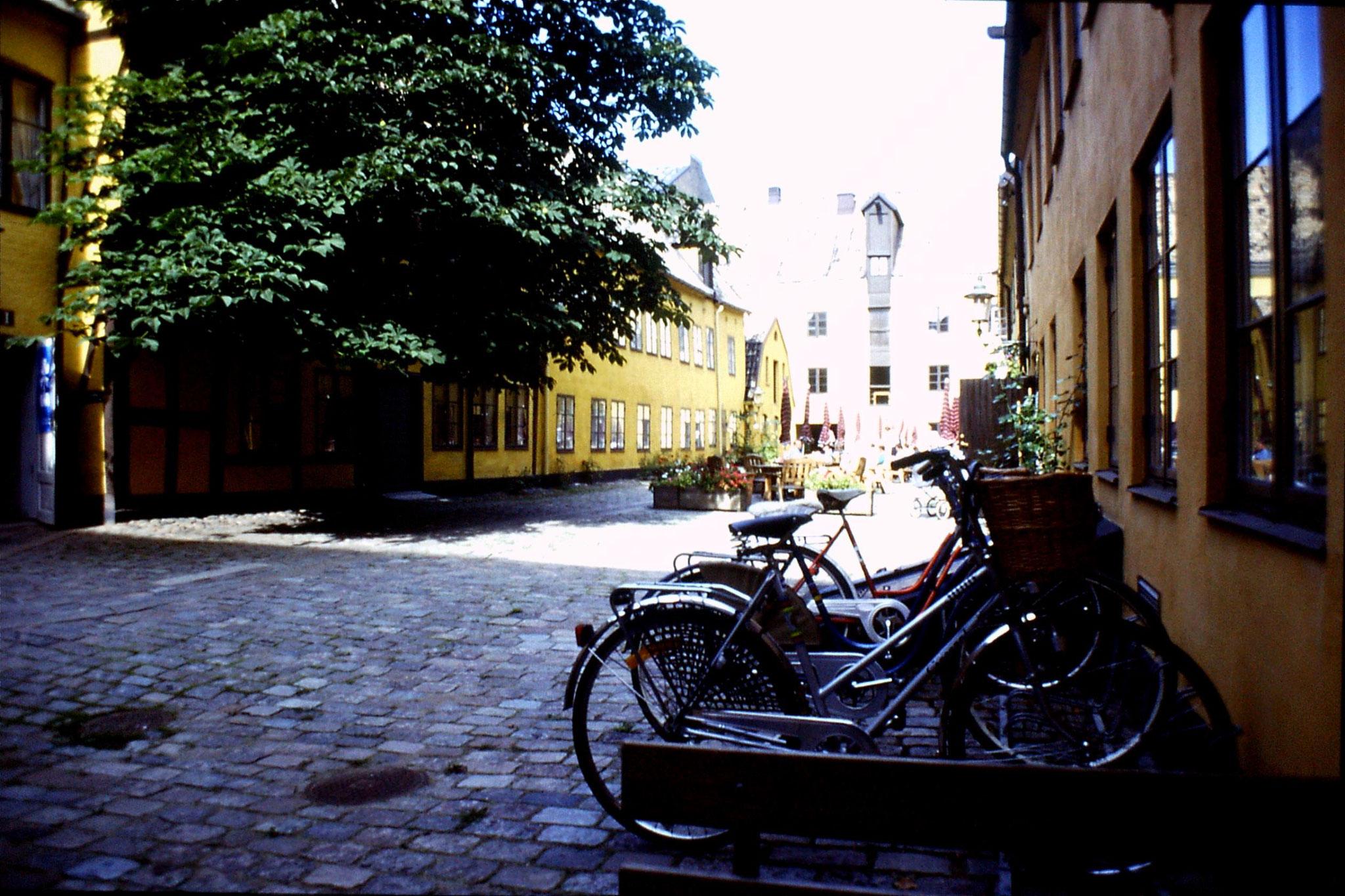 1/9/1988: 22: Malmo St Gertrude courtyard