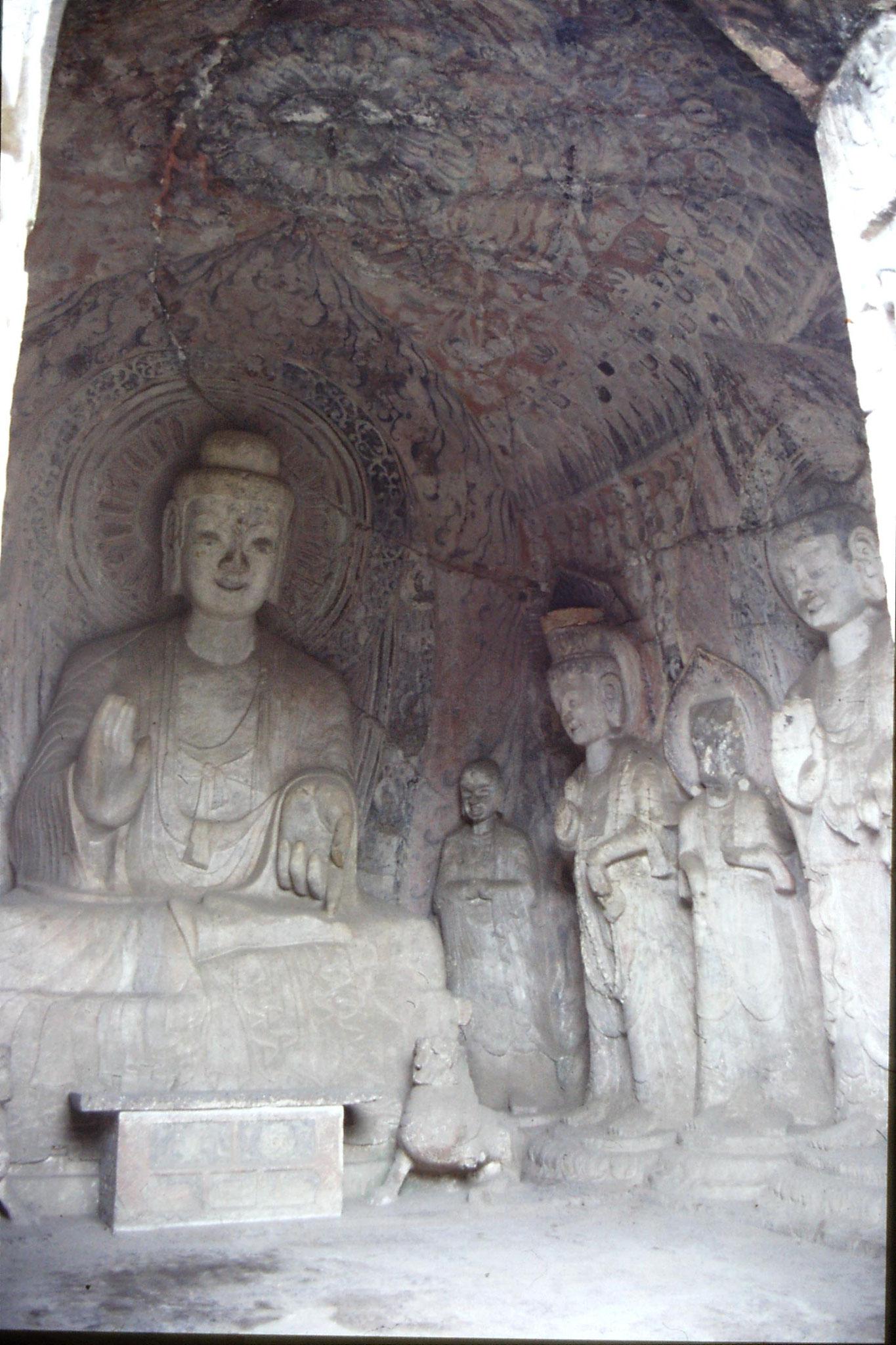 28/2/1989: 16: Luoyang Bingyang Cave no.2