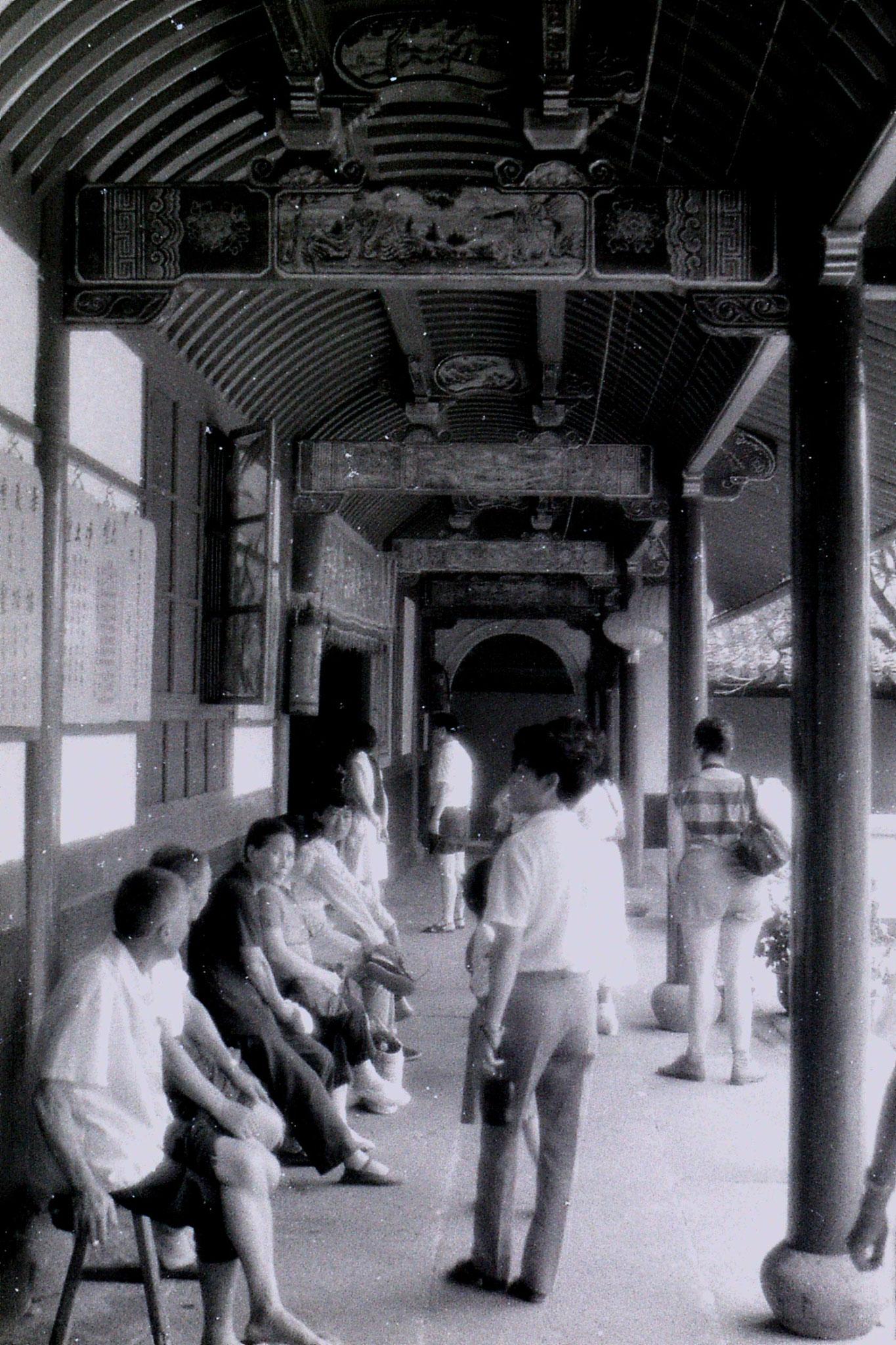 24/7/1989: 32: Putuo, corridor