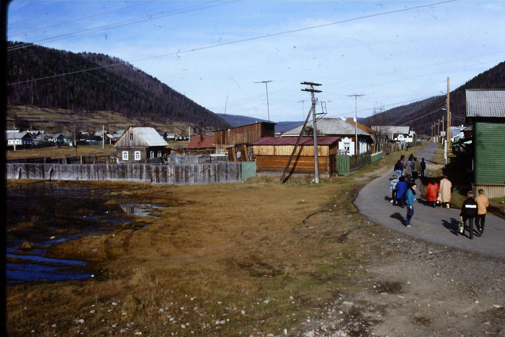 23/10/1988: 28: Lake Baikal Listvyanka