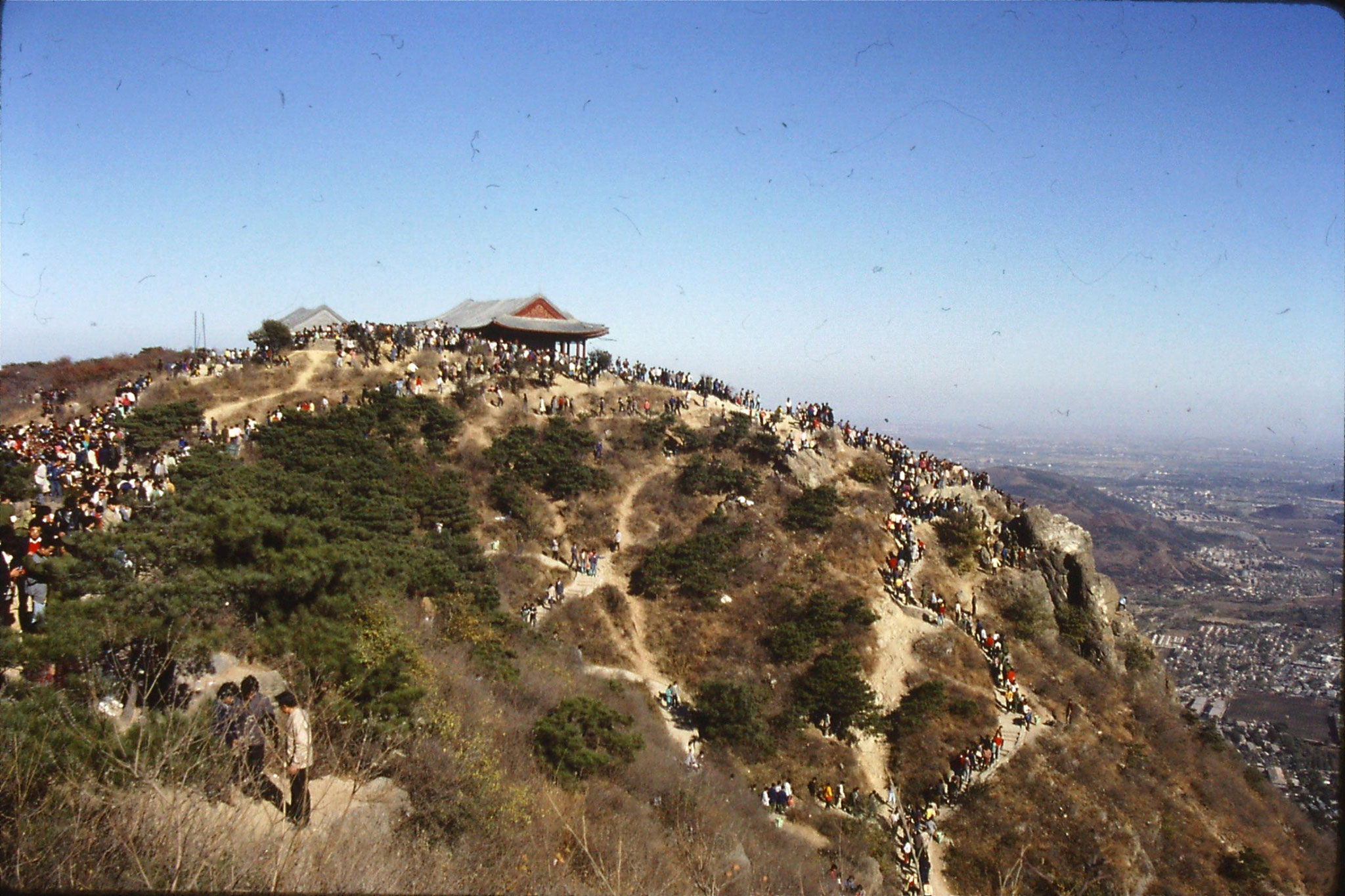 6/11/1988: 31: outing to Xiangshan