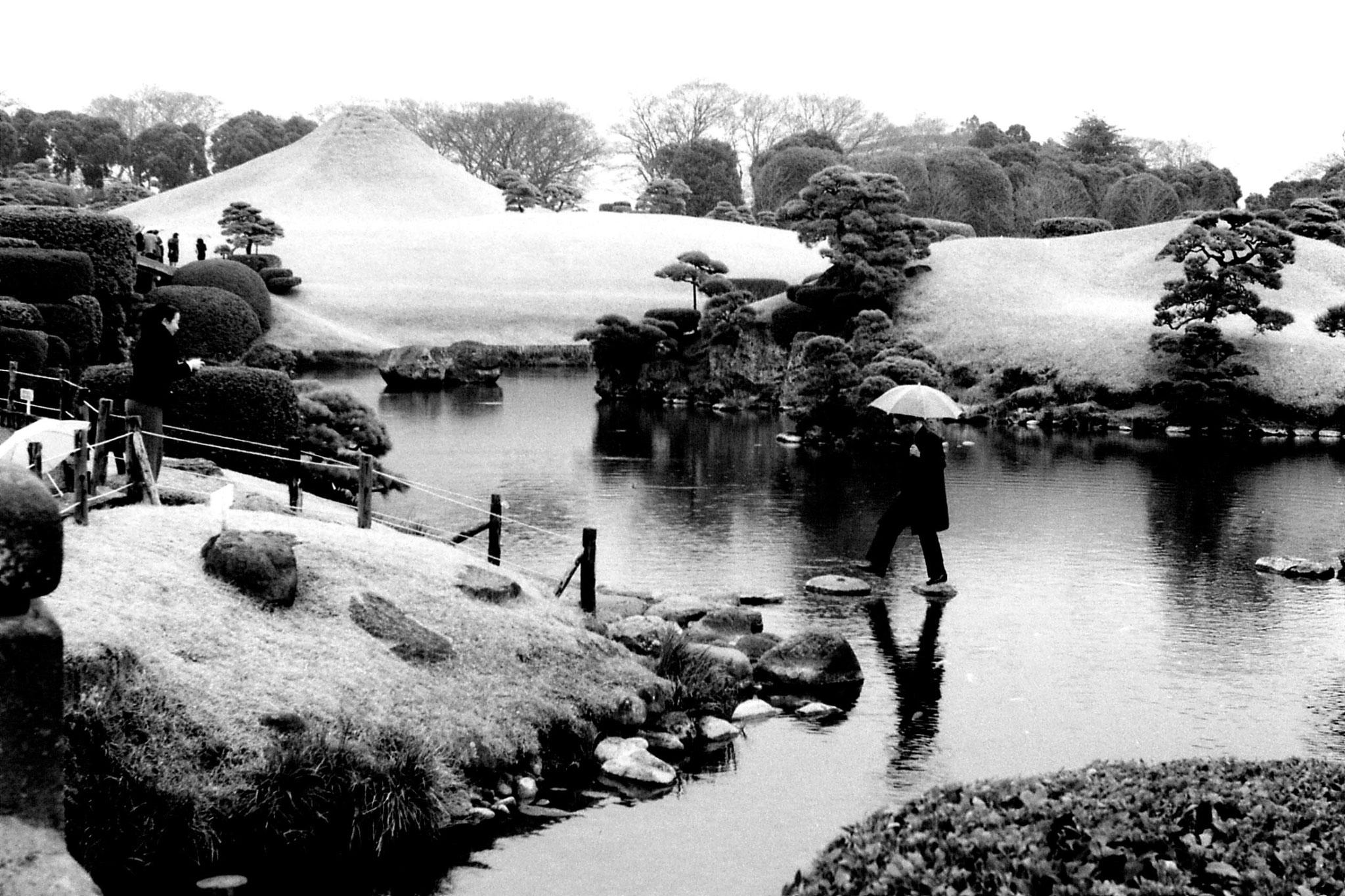 22/1/1989: 18: garden at Kumamoto