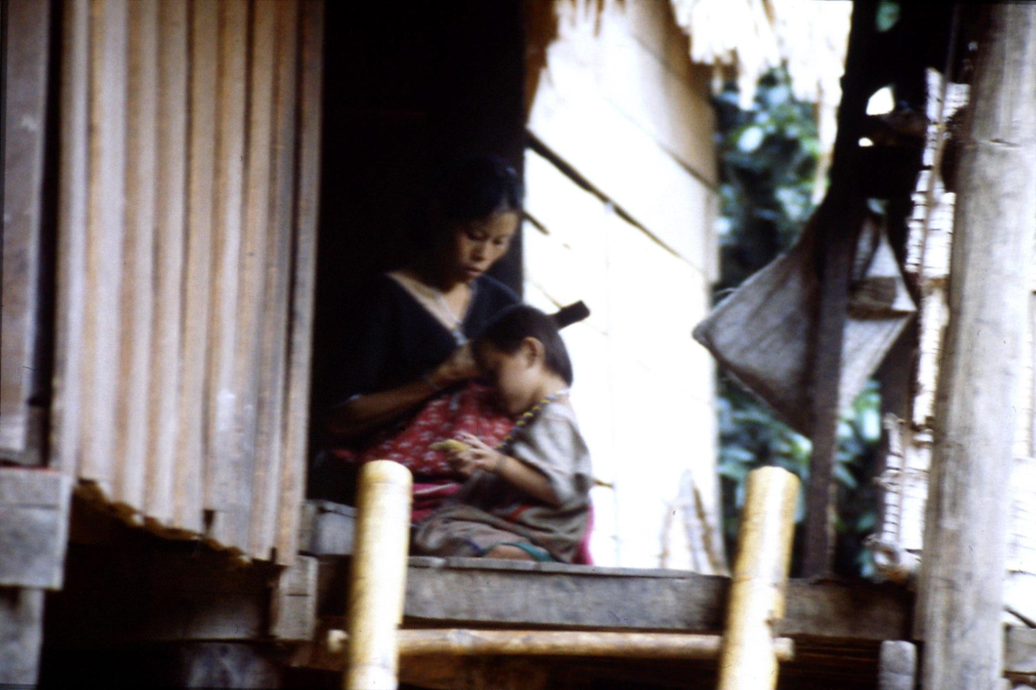 12/6/1990: 2: Trek - Mae Mi village (Karen)