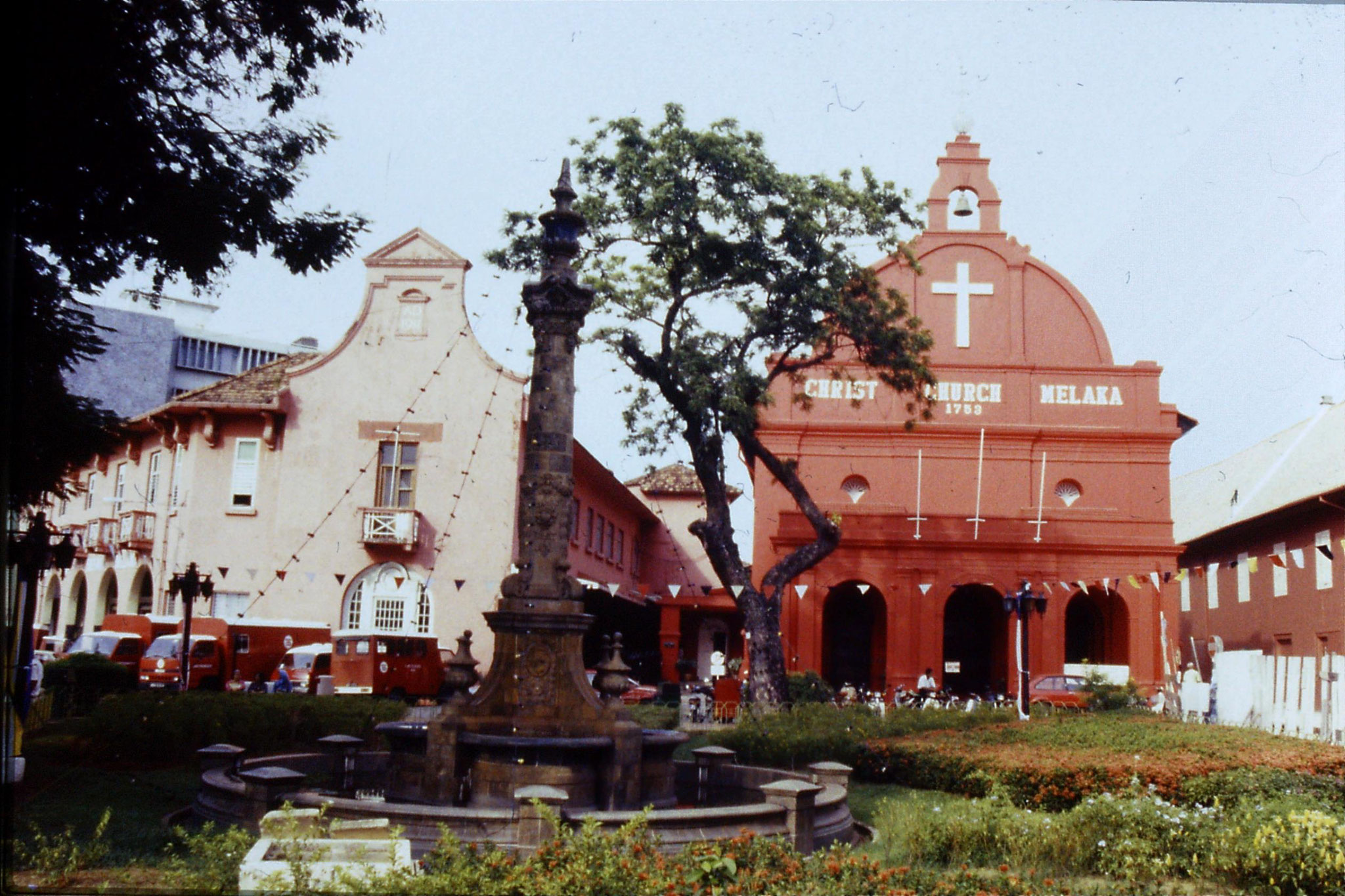 6/7/21990: Malacca old Dutch church